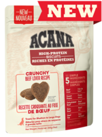 Acana® High-Protein Biscuits, Crunchy Beef Liver Recipe 9oz Large
