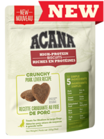 Acana® High-Protein Biscuits, Crunchy Pork Liver Recipe 9oz Large