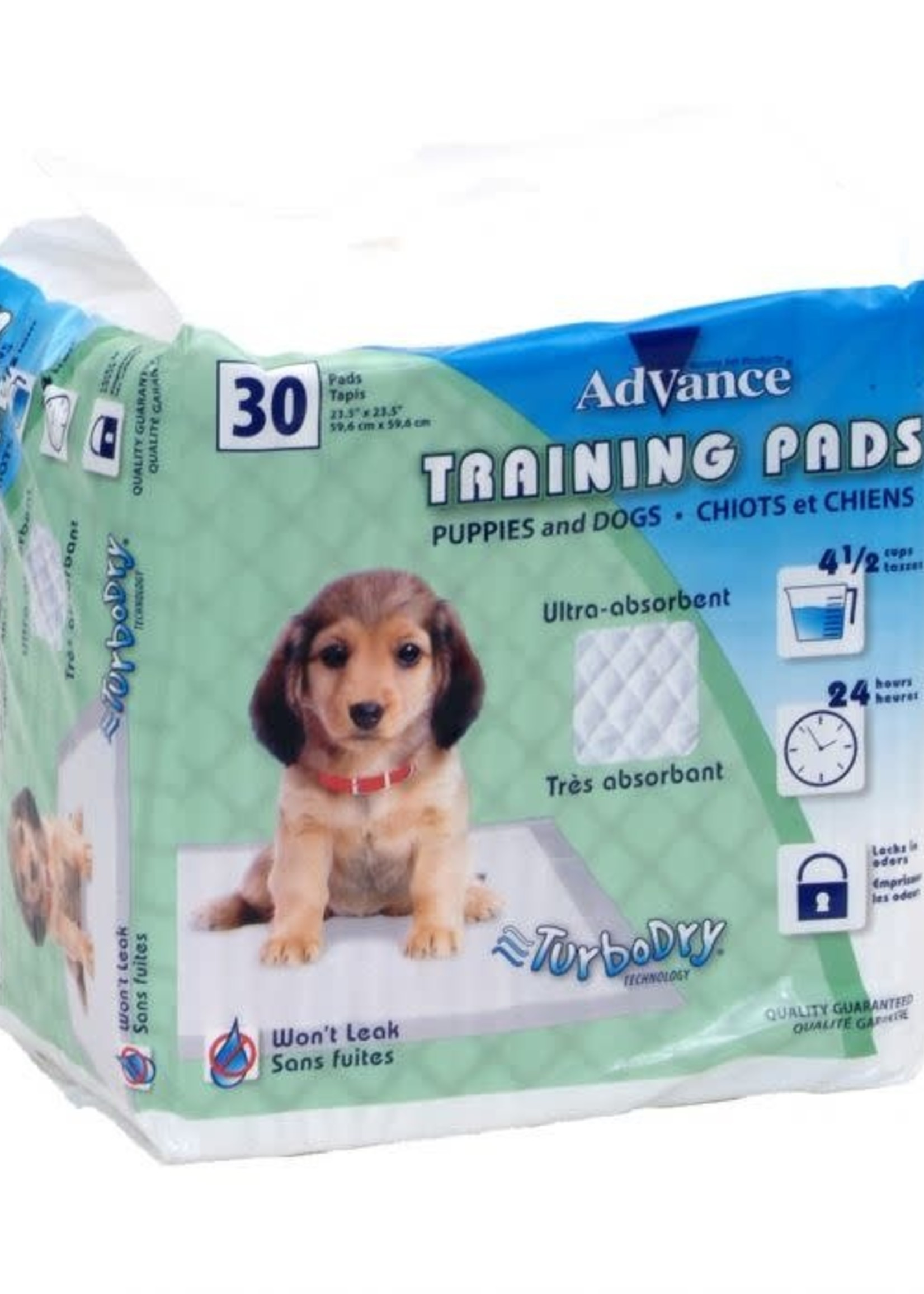 """Coastal® ADVANCE® Puppy Pads 23.5""""x23.5"""" 30pk"""