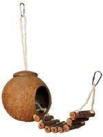 Prevue Hendryx™ Coco Hideaway with Bird Ladder