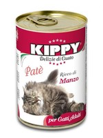 KIPPY Pate with Beef Cat Can 12oz