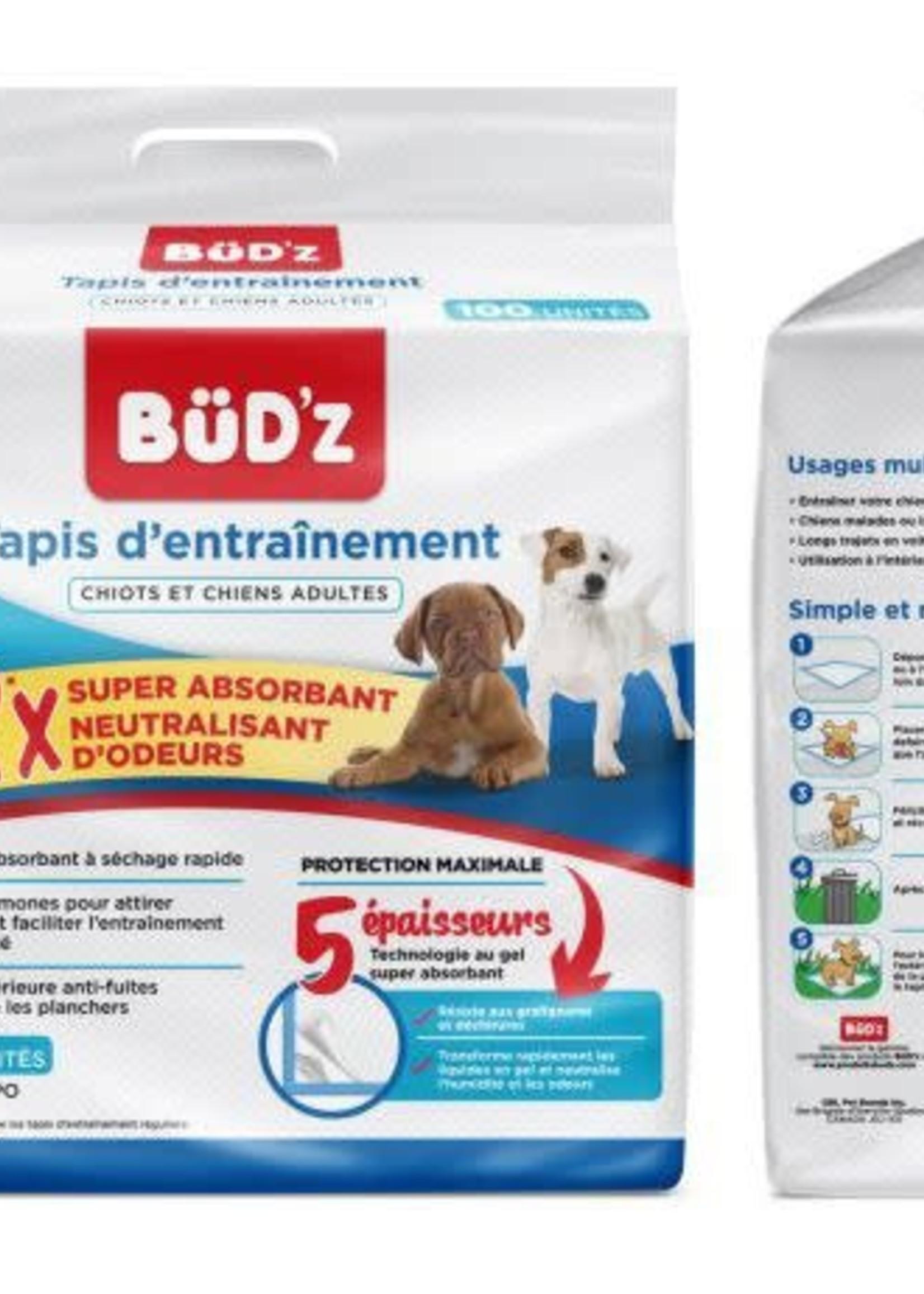 "Büd'z® Budz Disposable Puppy Pads 22x22"" 100pk"