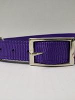 "AK-9 D-Ring Belt Collar 28"" Purple"