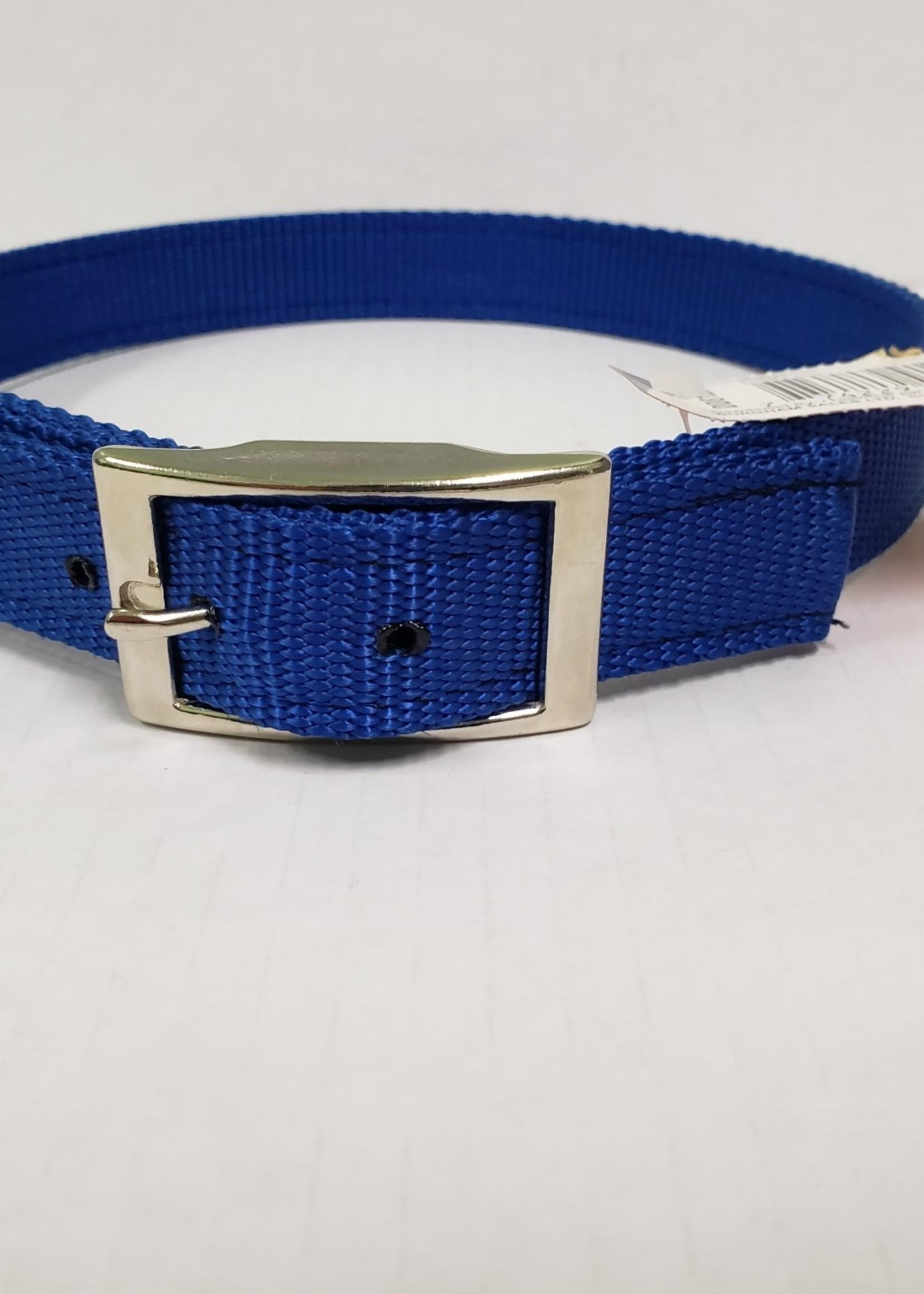 """AK-9 AK-9 D-Ring Belt Collar 28"""" Blue"""