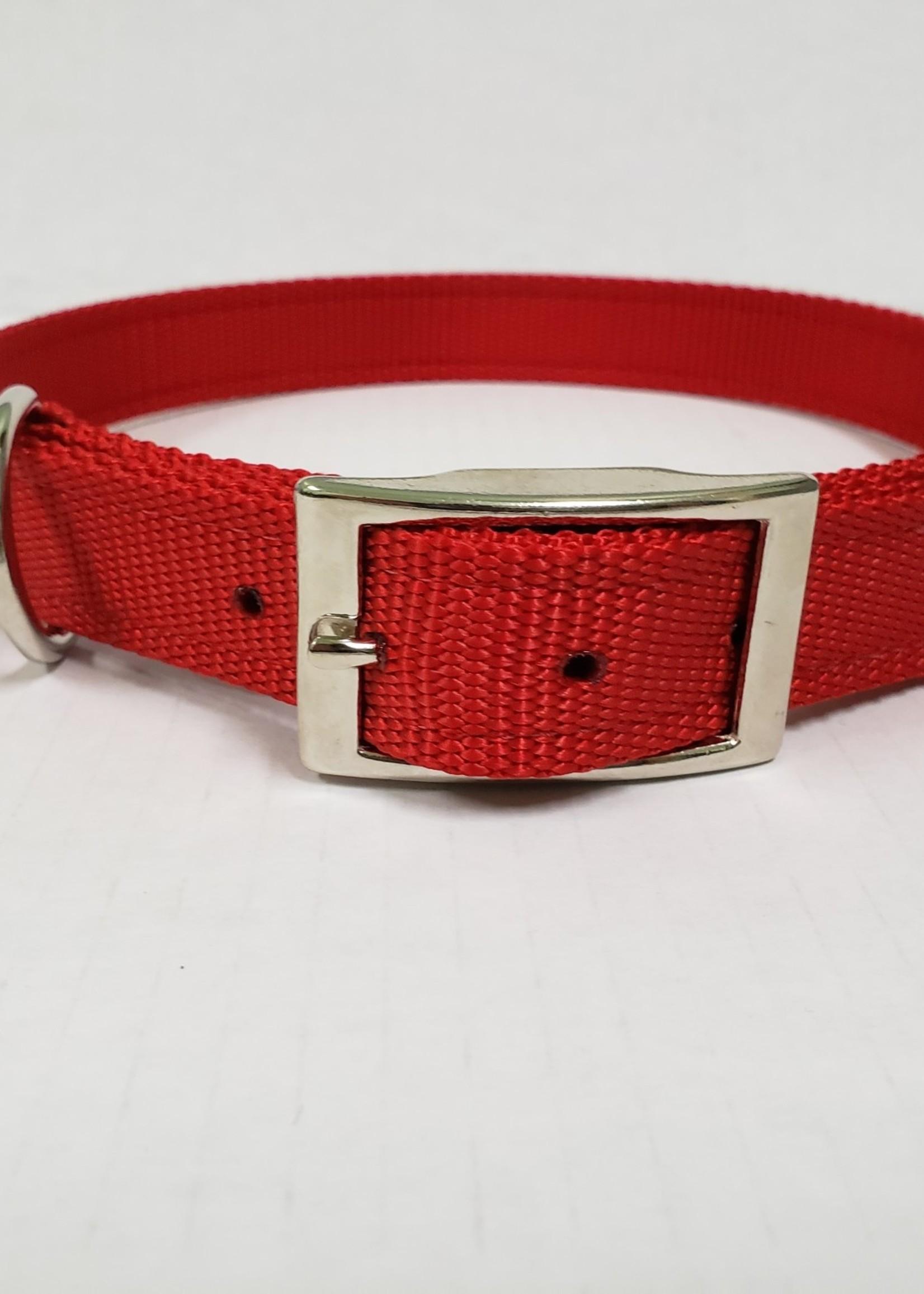 """AK-9 AK-9 D-Ring Belt Collar 28"""" Red"""