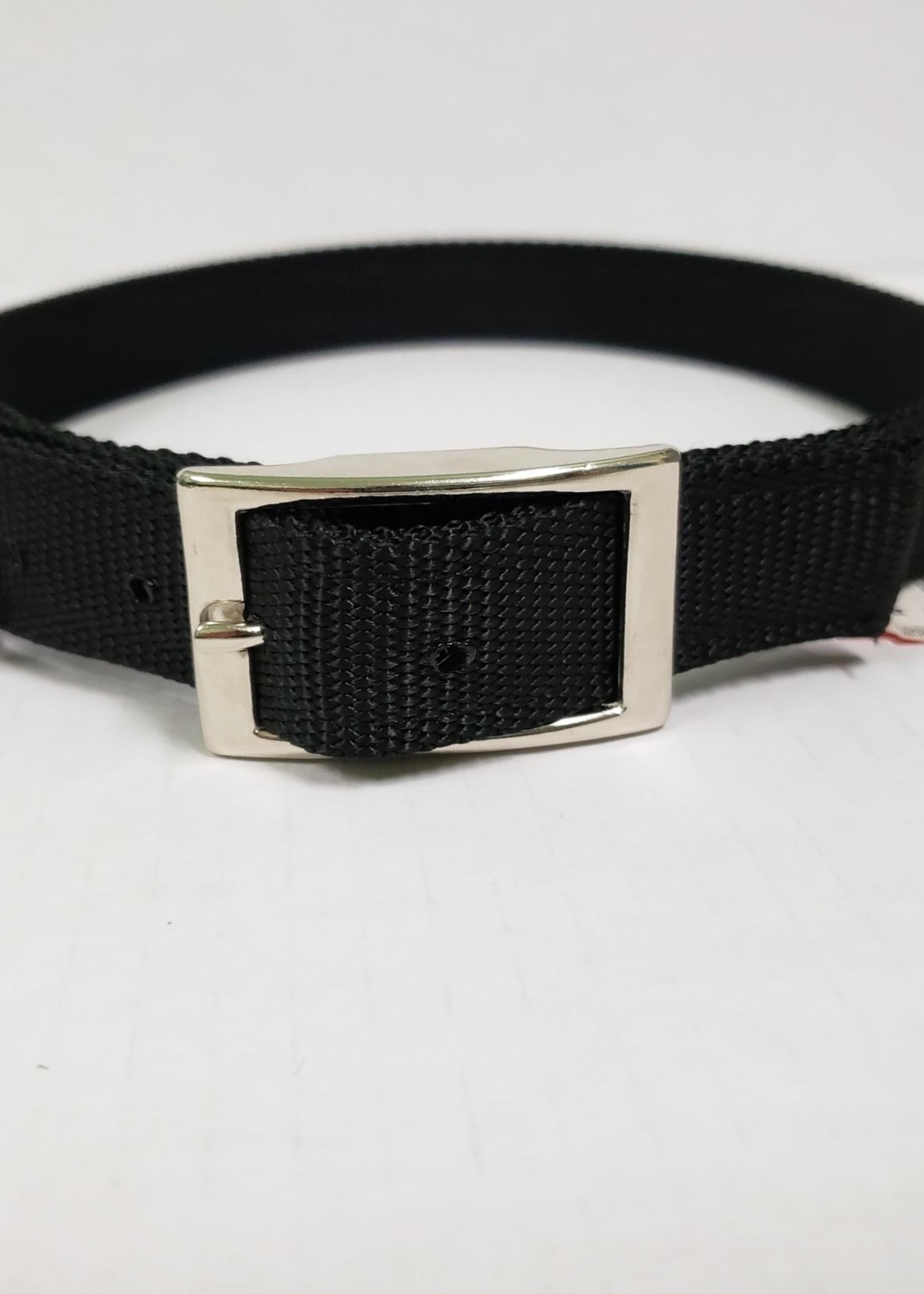 """AK-9 AK-9 D-Ring Belt Collar 28"""" Black"""