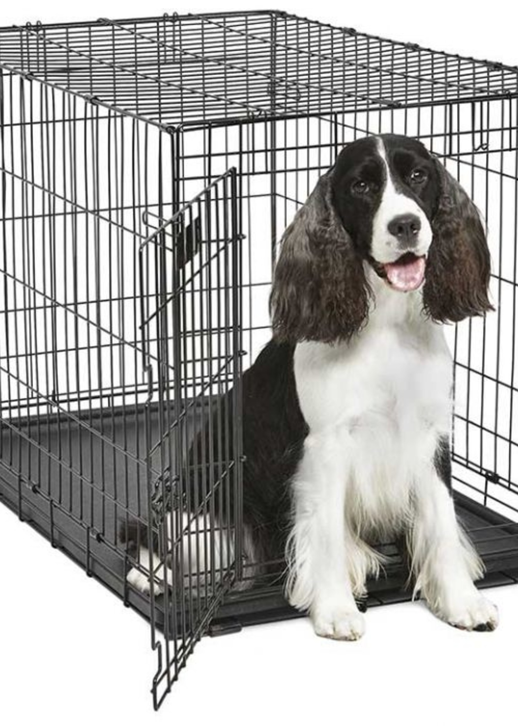 """MidWest Homes for Pets™ MidWest Homes Contour Single Door Dog Crate 36"""""""