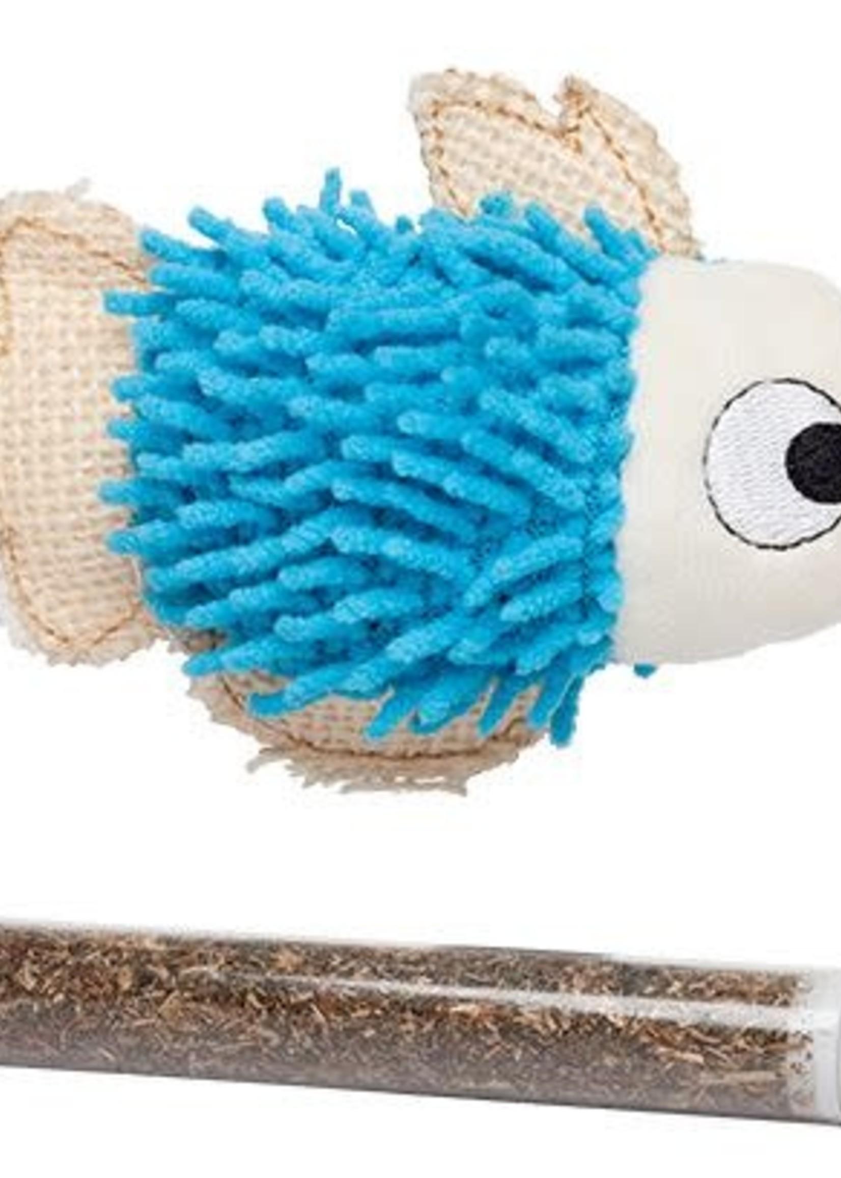 Büd'z® Fish with Catnip Tube