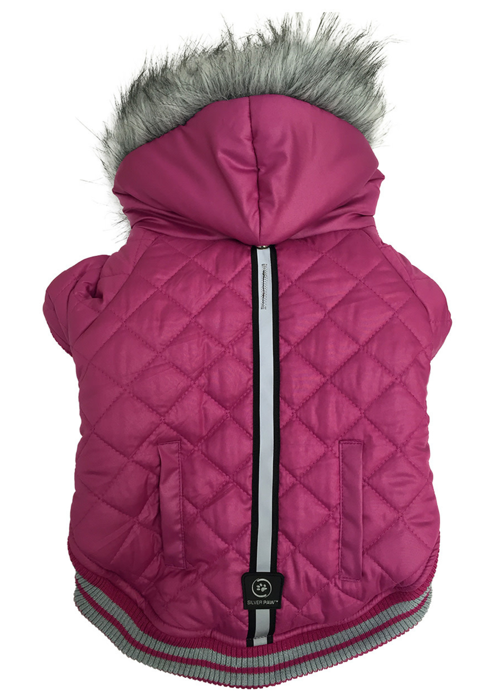 Protect Me - Alert Series Silver Paw™ Hooded Parka X-Small