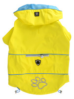 Protect Me - Alert Series Silver Paw™ Raincoat Small