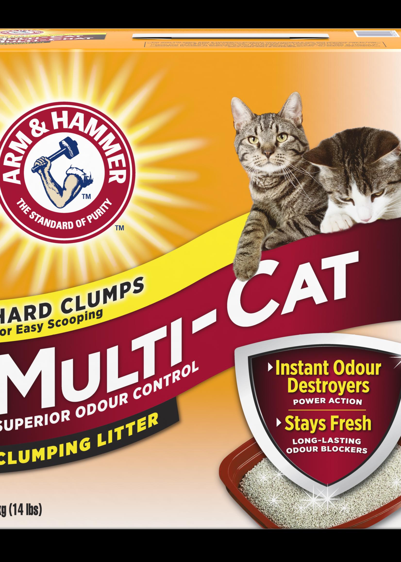 Arm & Hammer™ Arm & Hammer Multi-Cat Strength Clumping Litter 14lbs