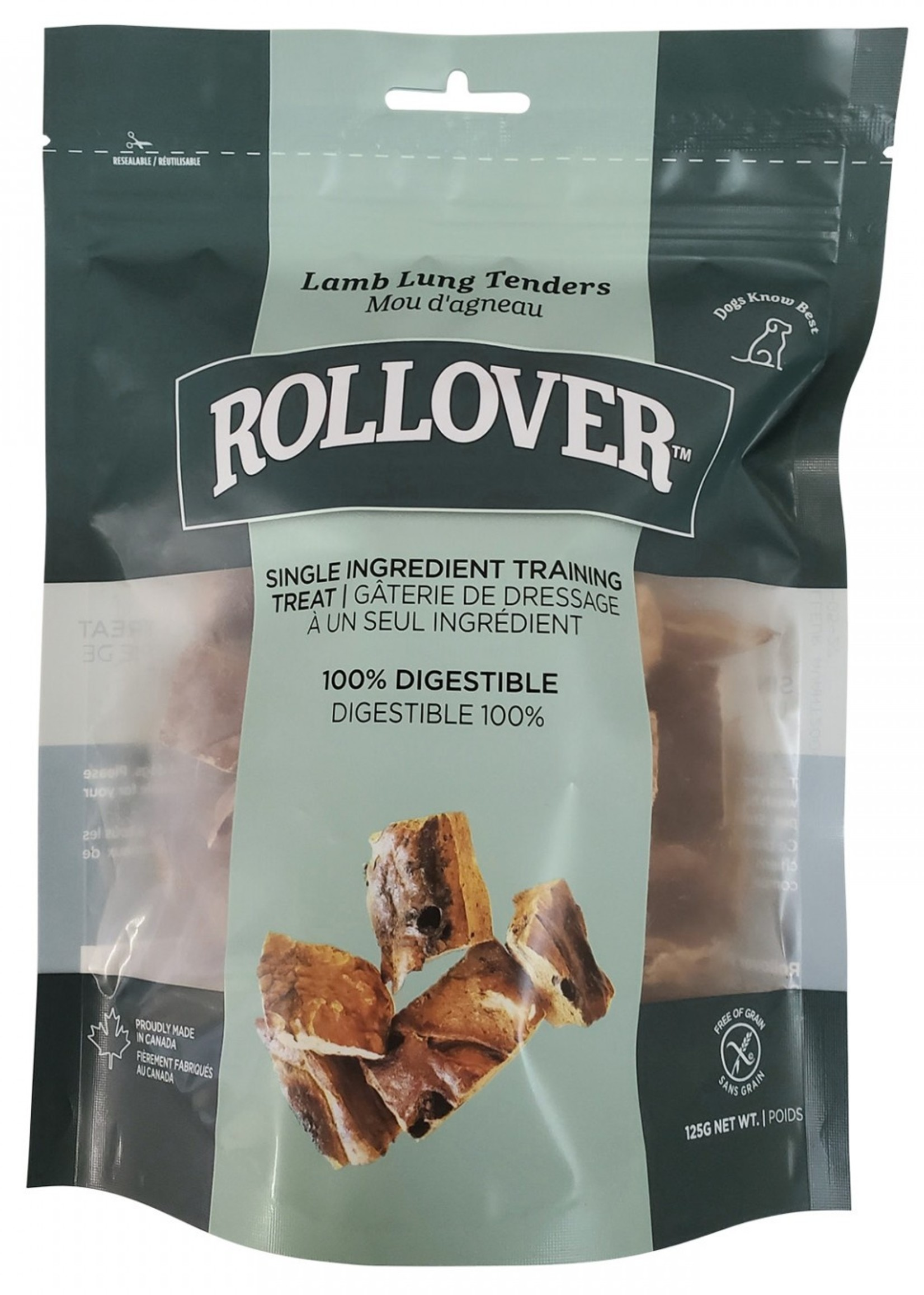 Rollover™ Rollover Lamb Lung Tenders 125g