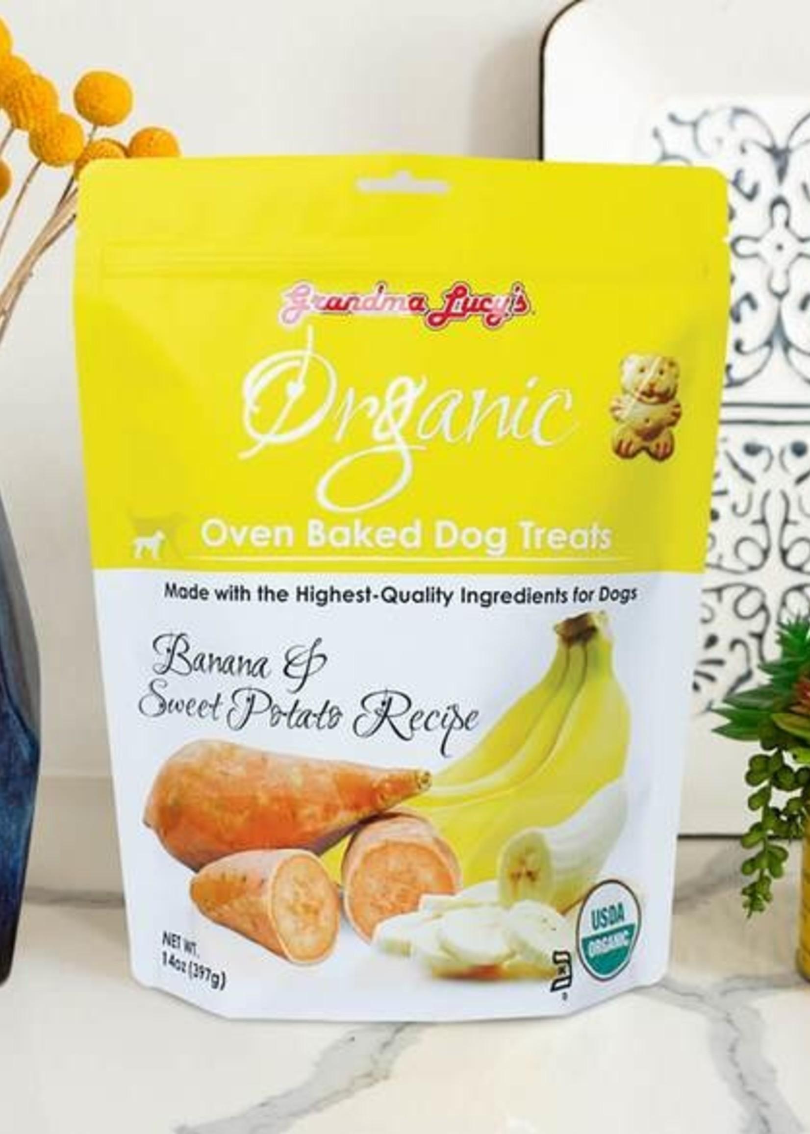 Grandma Lucy's® Grandma Lucy's Organic Oven Baked Banana & Sweet Potato Recipe 14oz
