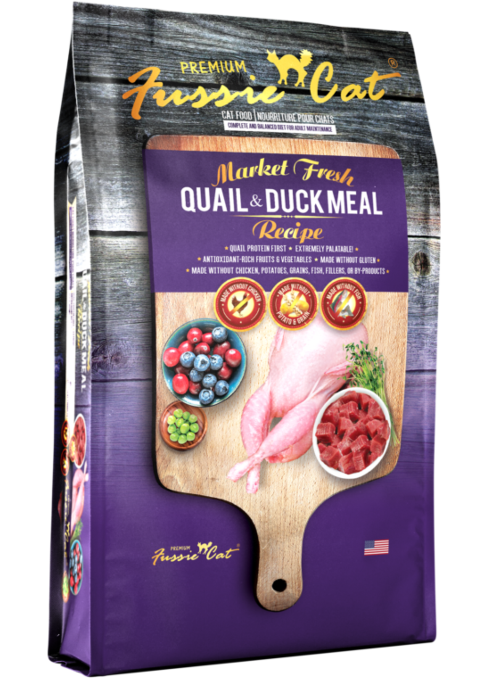 Fussie Cat® Fussie Cat Market Fresh Quail & Duck Meal Recipe