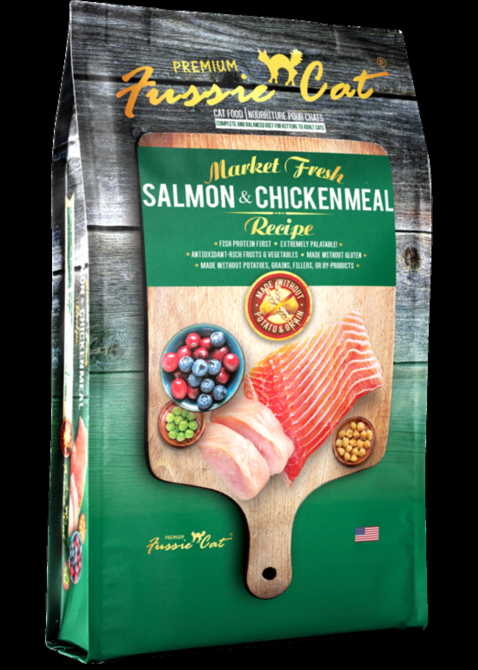 Fussie Cat® Fussie Cat Market Fresh Salmon & Chicken Meal Recipe