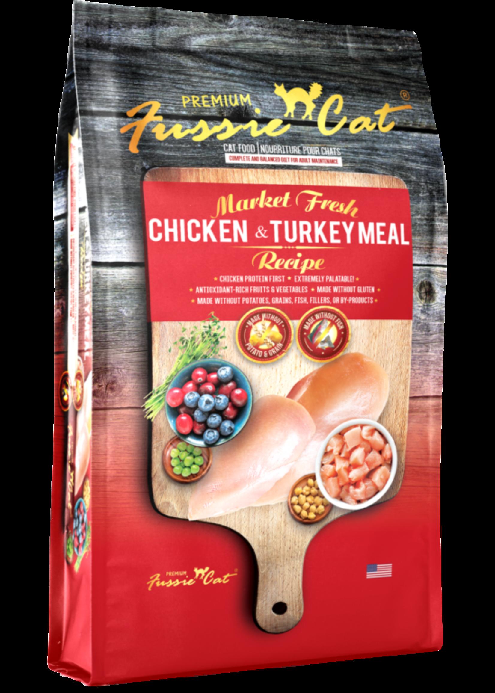 Fussie Cat® Fussie Cat Market Fresh Chicken & Turkey Meal Recipe