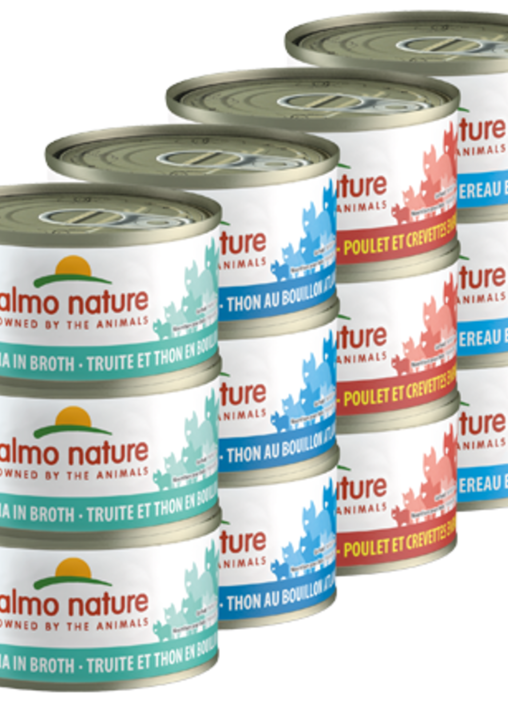 Almo Nature© Almo Nature HQS Natural Rotational Pack 2