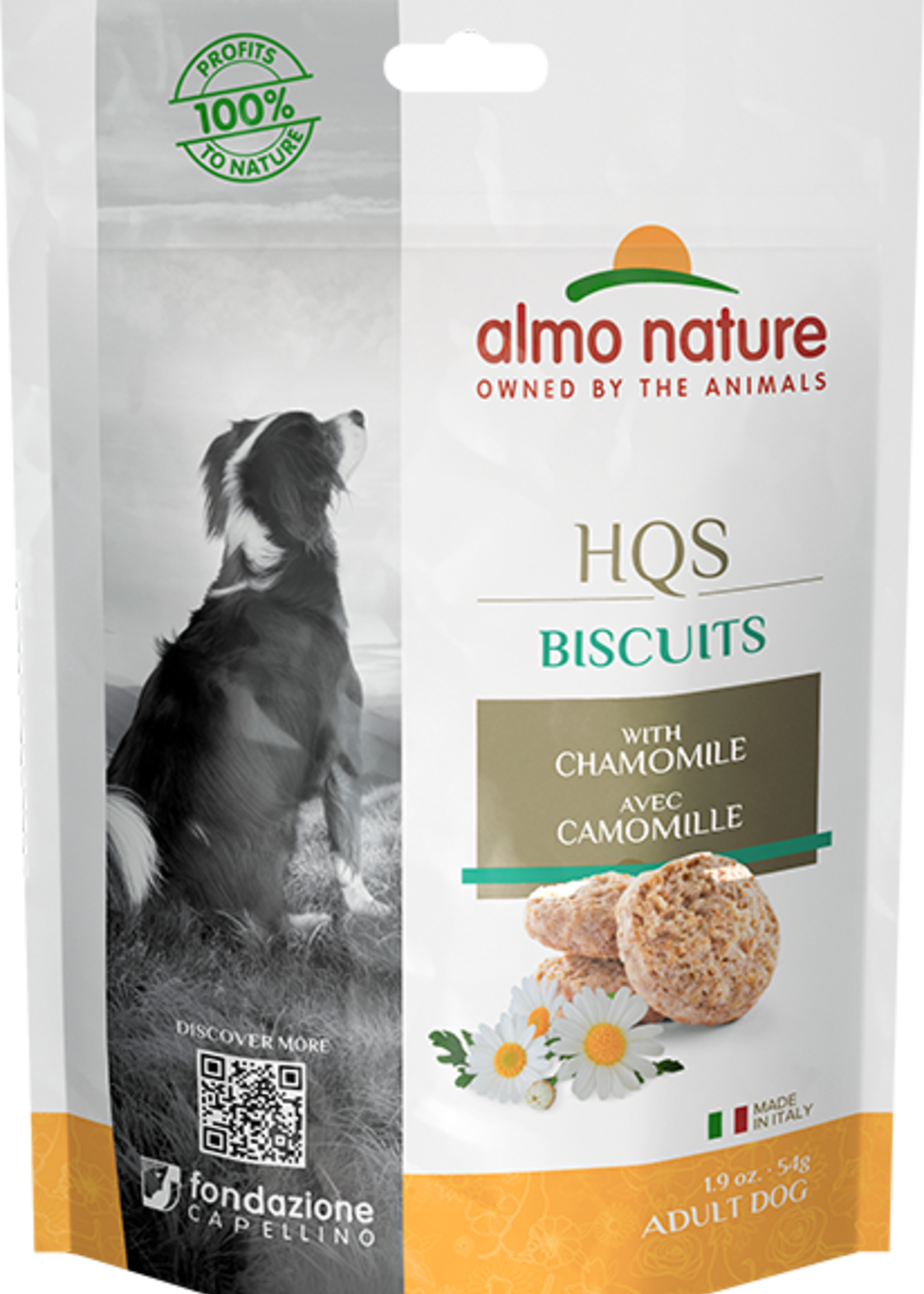 Almo Nature© Almo Nature HQS Biscuits with Chamomile 54g