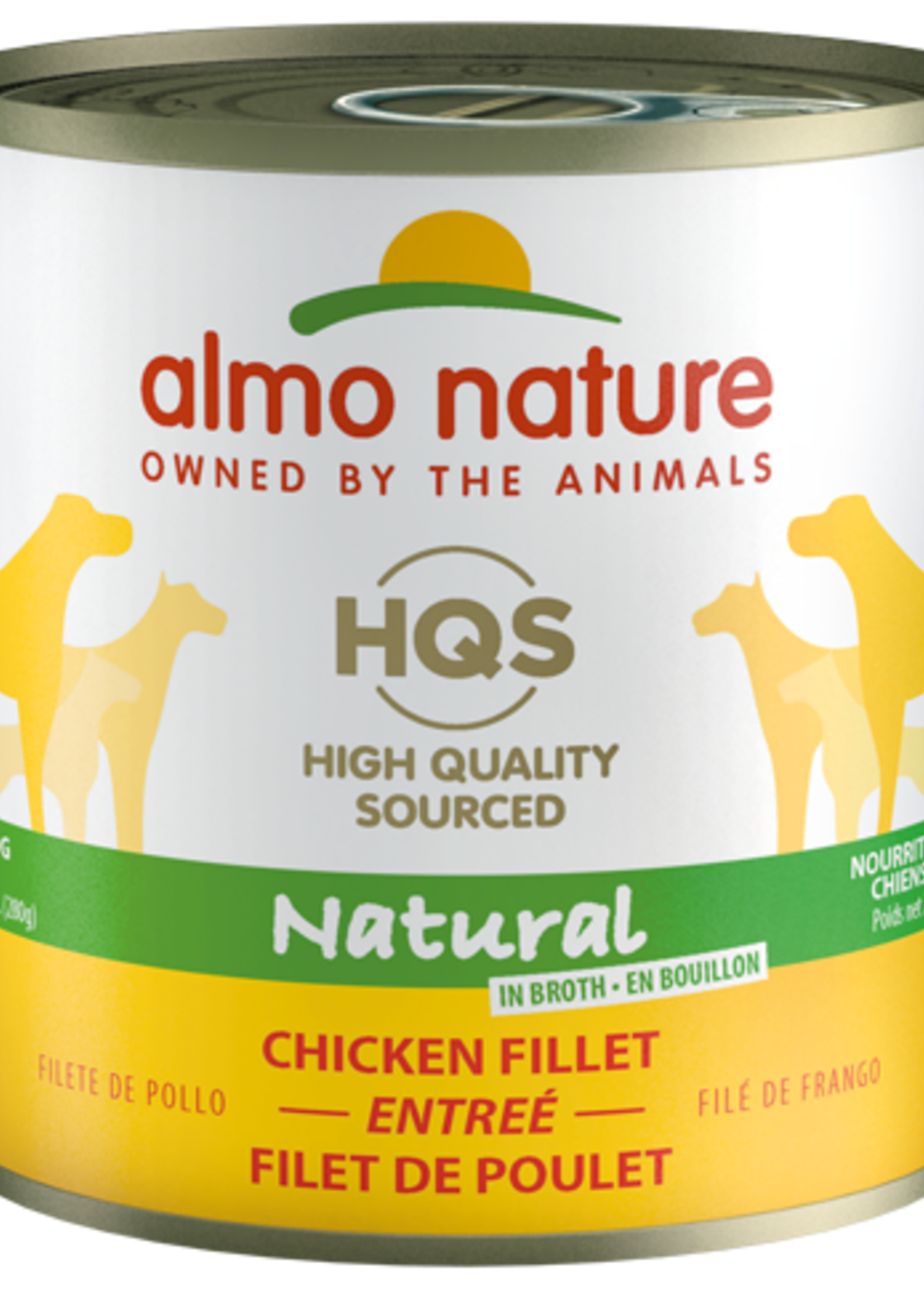Almo Nature© Almo Nature HQS Natural Chicken Fillet Entrée 280g