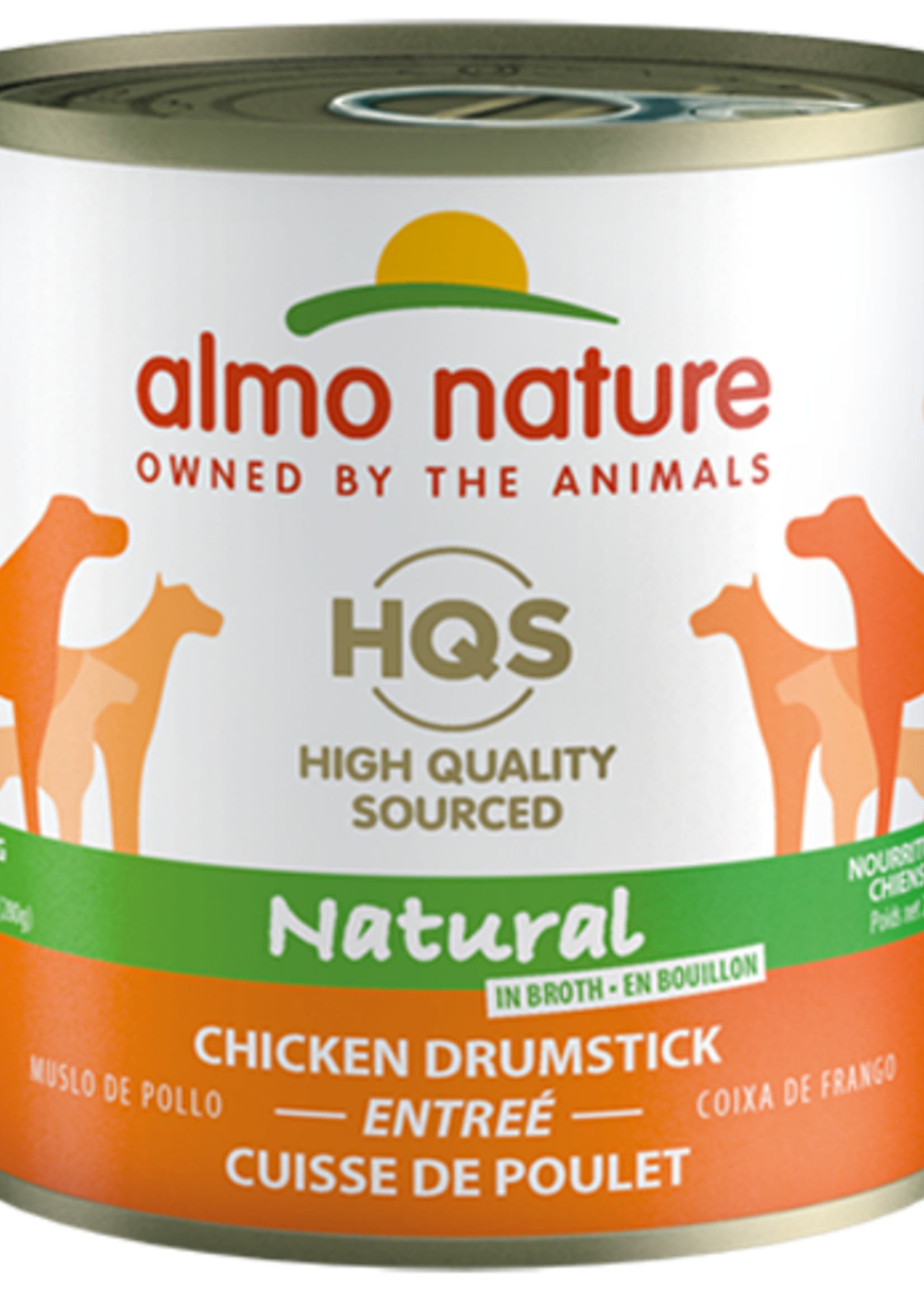 Almo Nature© Almo Nature HQS Natural Chicken Drumstick Entrée 280g