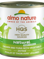Almo Nature© HQS Natural Chicken and Tuna with Vegetables Entrée 280g