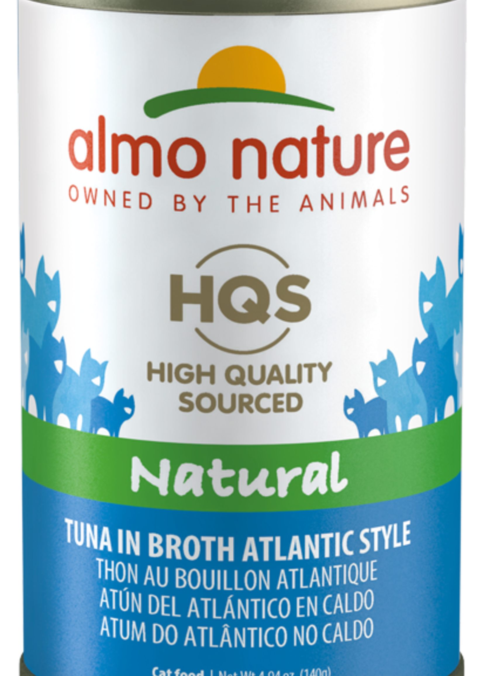 Almo Nature© Almo Nature HQS Natural Tuna in Broth Atlantic Style 140g
