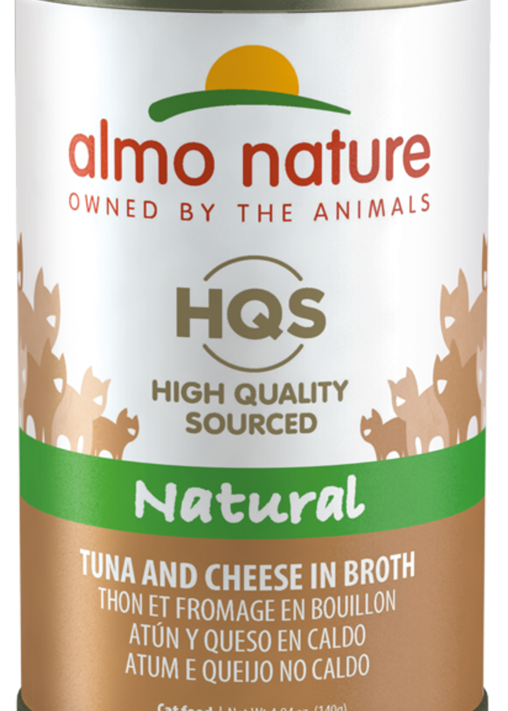 Almo Nature© Almo Nature HQS Natural Tuna and Cheese in Broth 140g