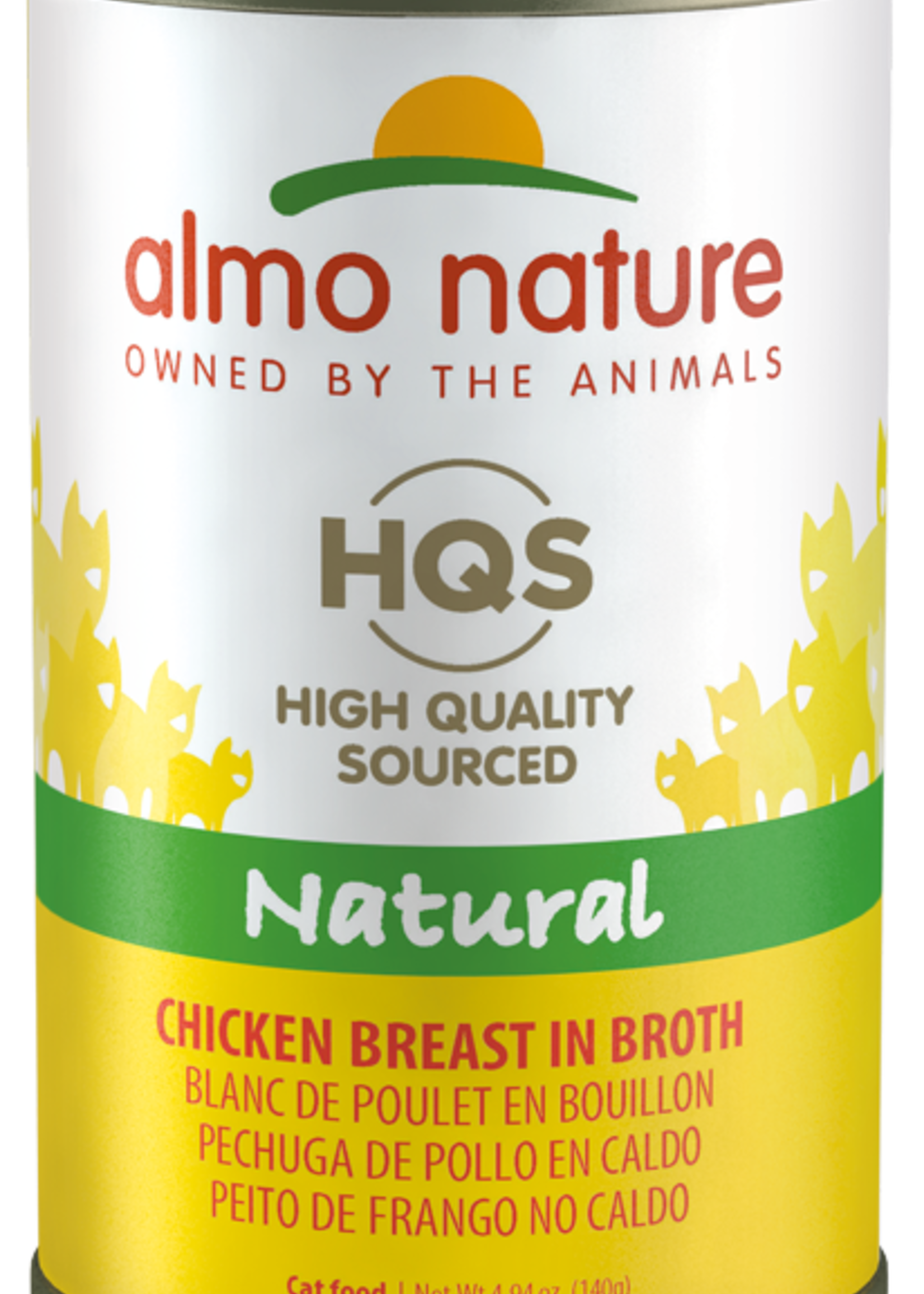 Almo Nature© Almo Nature HQS Natural Chicken Breast in Broth 140g