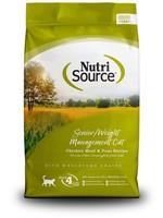 Nutri Source® Senior/Weight Management 6.6lbs
