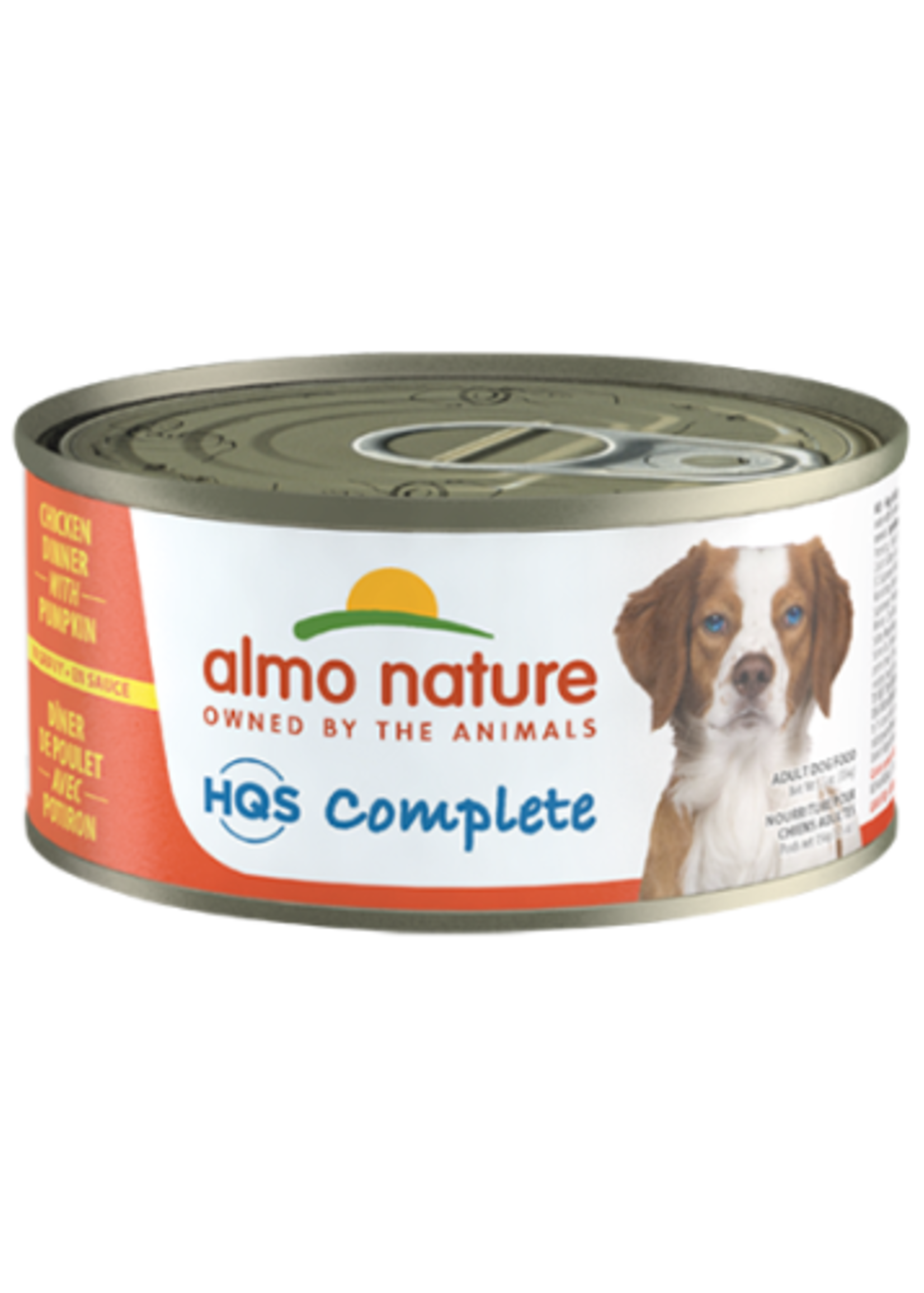 Almo Nature© HQS Complete Chicken Dinner with Pumpkin 156g