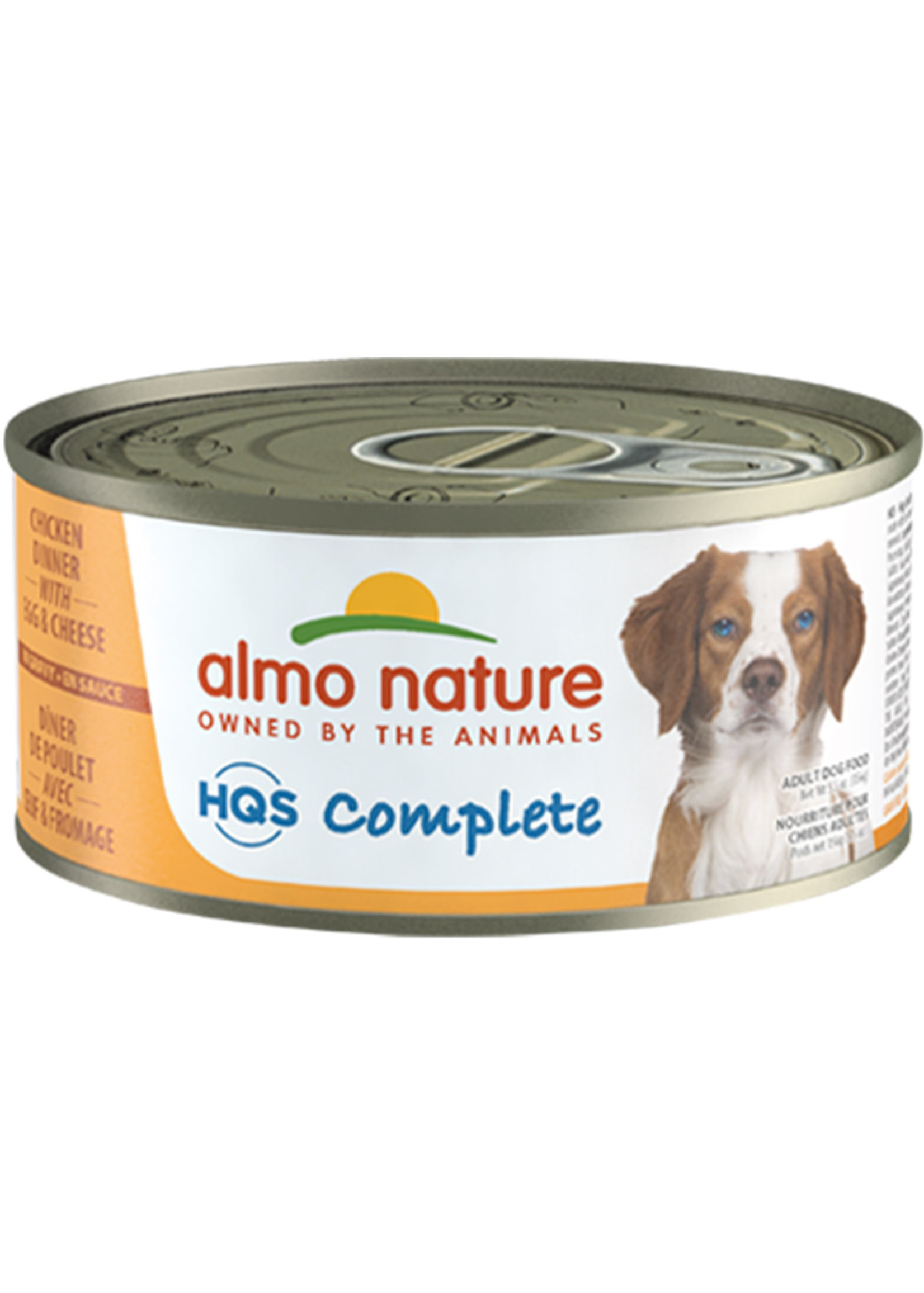 Almo Nature© Almo Nature HQS Complete Chicken Dinner with Egg and Cheese 156g