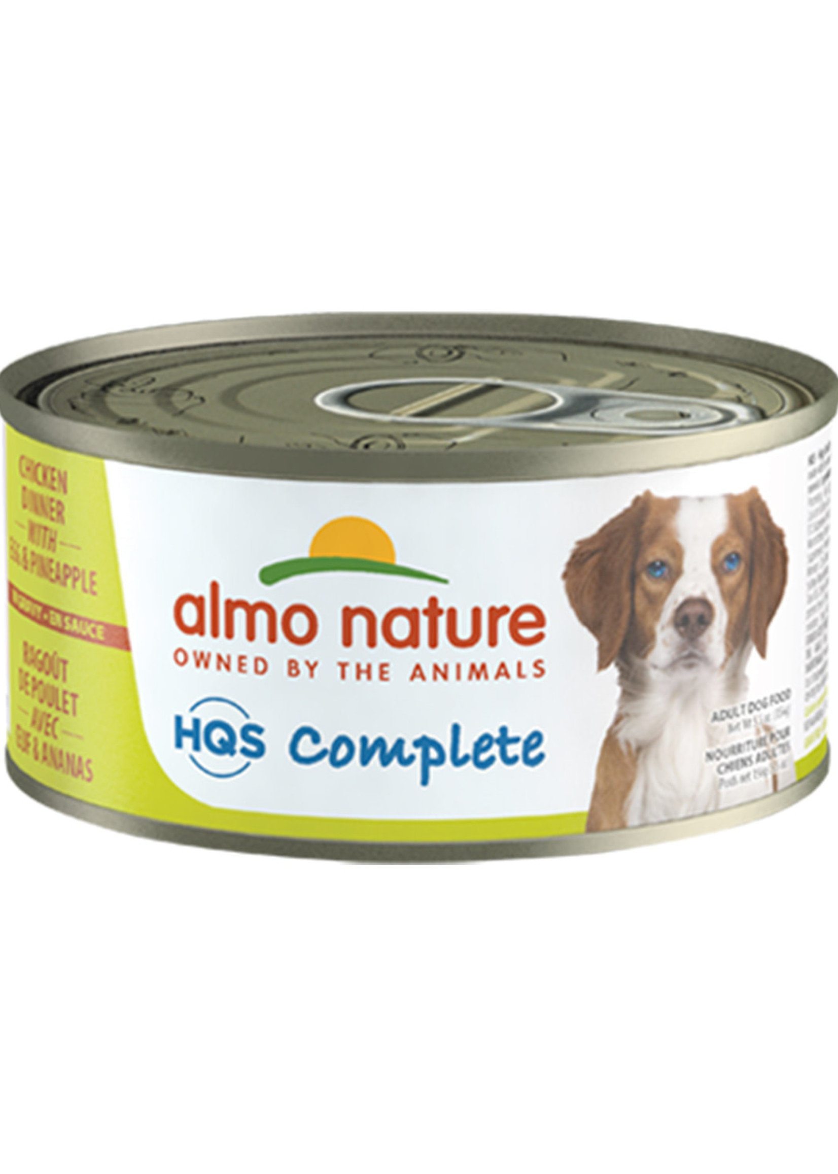Almo Nature© Almo Nature HQS Complete Chicken Dinner with Egg and Pineapple 156g