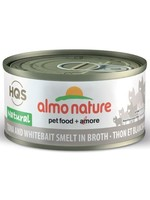 Almo Nature© HQS Natural Tuna and Whitebait Smelt in Broth 70g