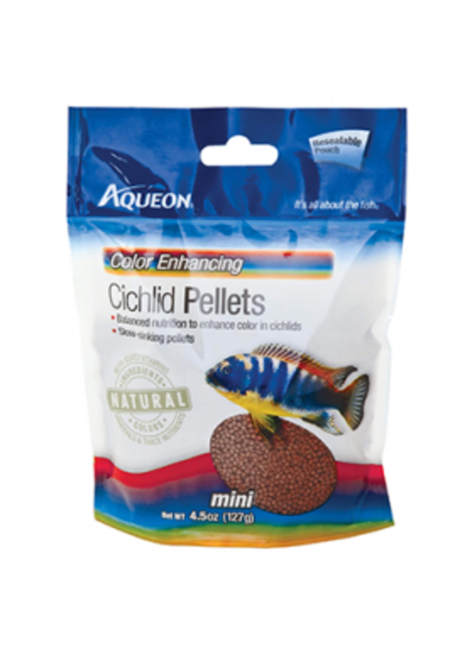 Aqueon® Aqueon Cichlid Color Enhancing Pellets 4.5oz