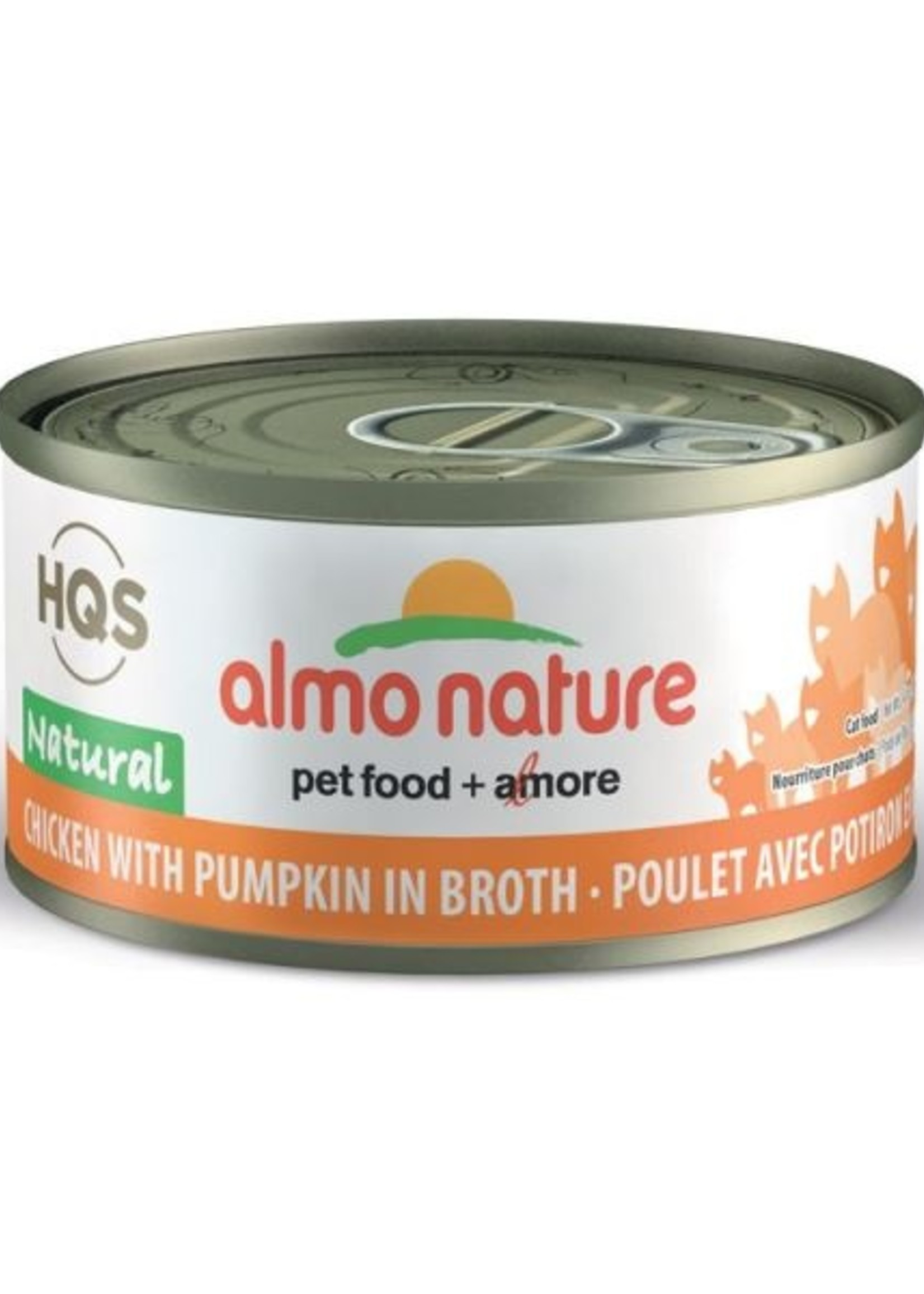 Almo Nature© Almo Nature HQS Natural Chicken with Pumpkin in Broth 70g