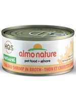 Almo Nature© HQS Natural Tuna and Shrimp in Broth 70g