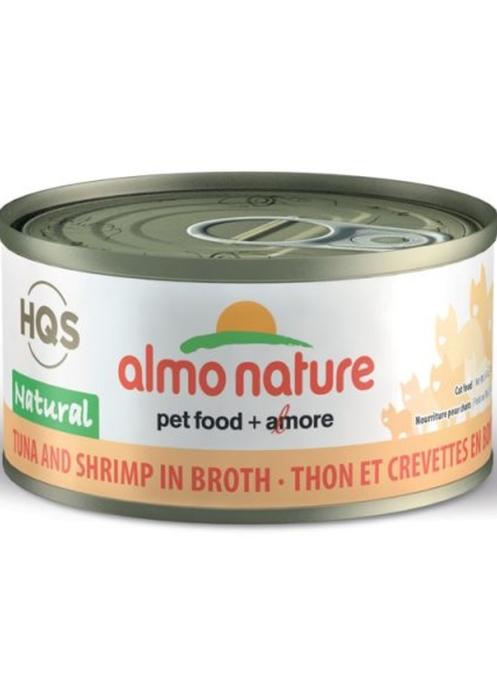 Almo Nature© Almo Nature HQS Natural Tuna and Shrimp in Broth 70g