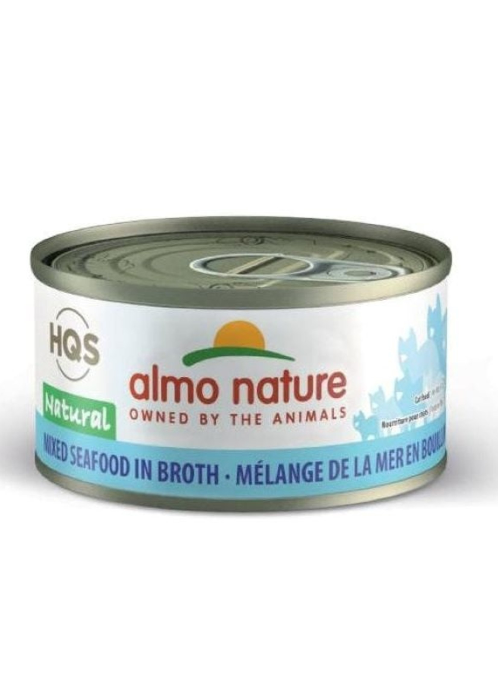 Almo Nature© Almo Nature HQS Natural Mixed Seafood in Broth 70g