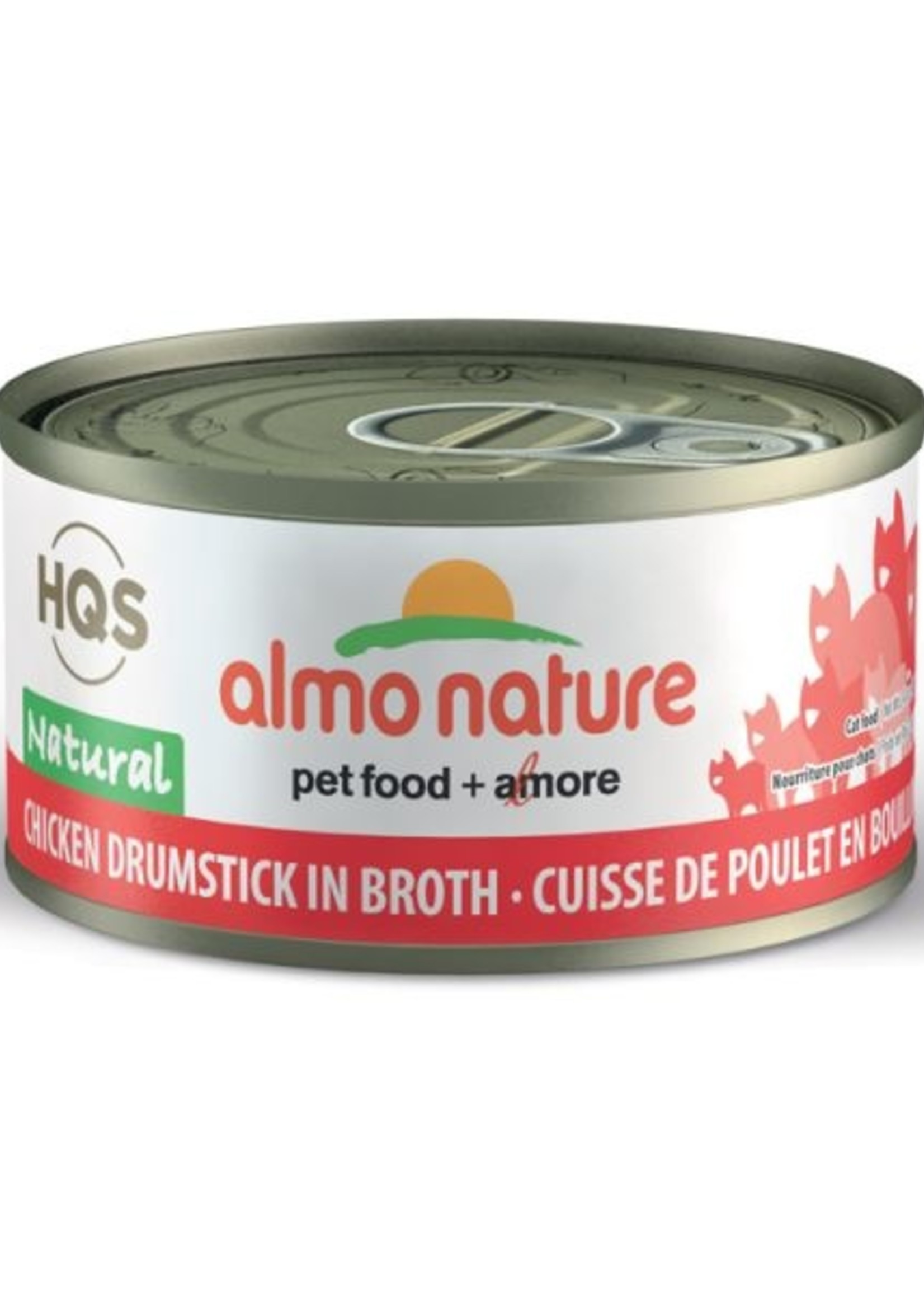 Almo Nature© Almo Nature HQS Natural Chicken Drumstick in Broth 70g