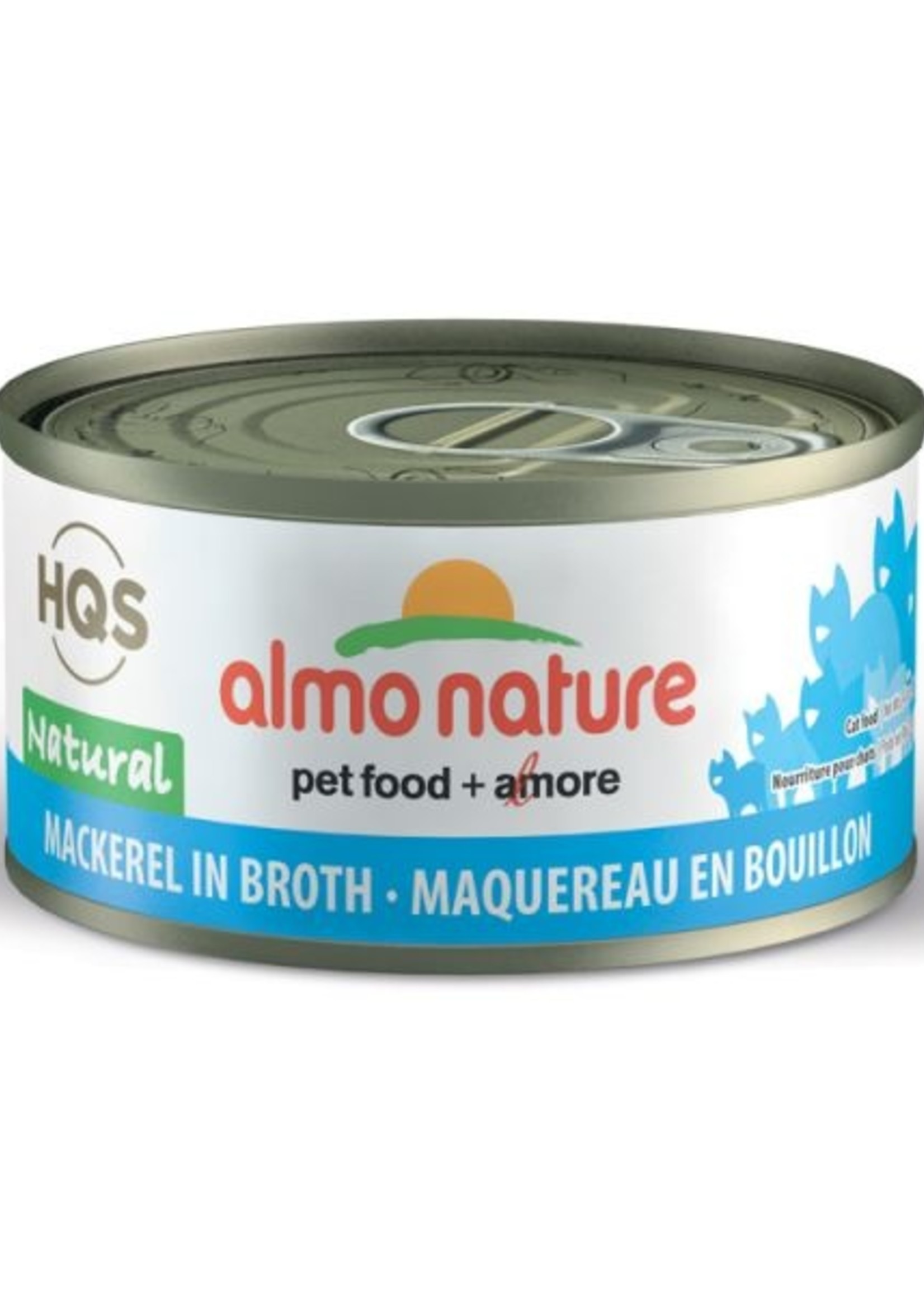 Almo Nature© Almo Nature HQS Natural Mackerel in Broth 70g