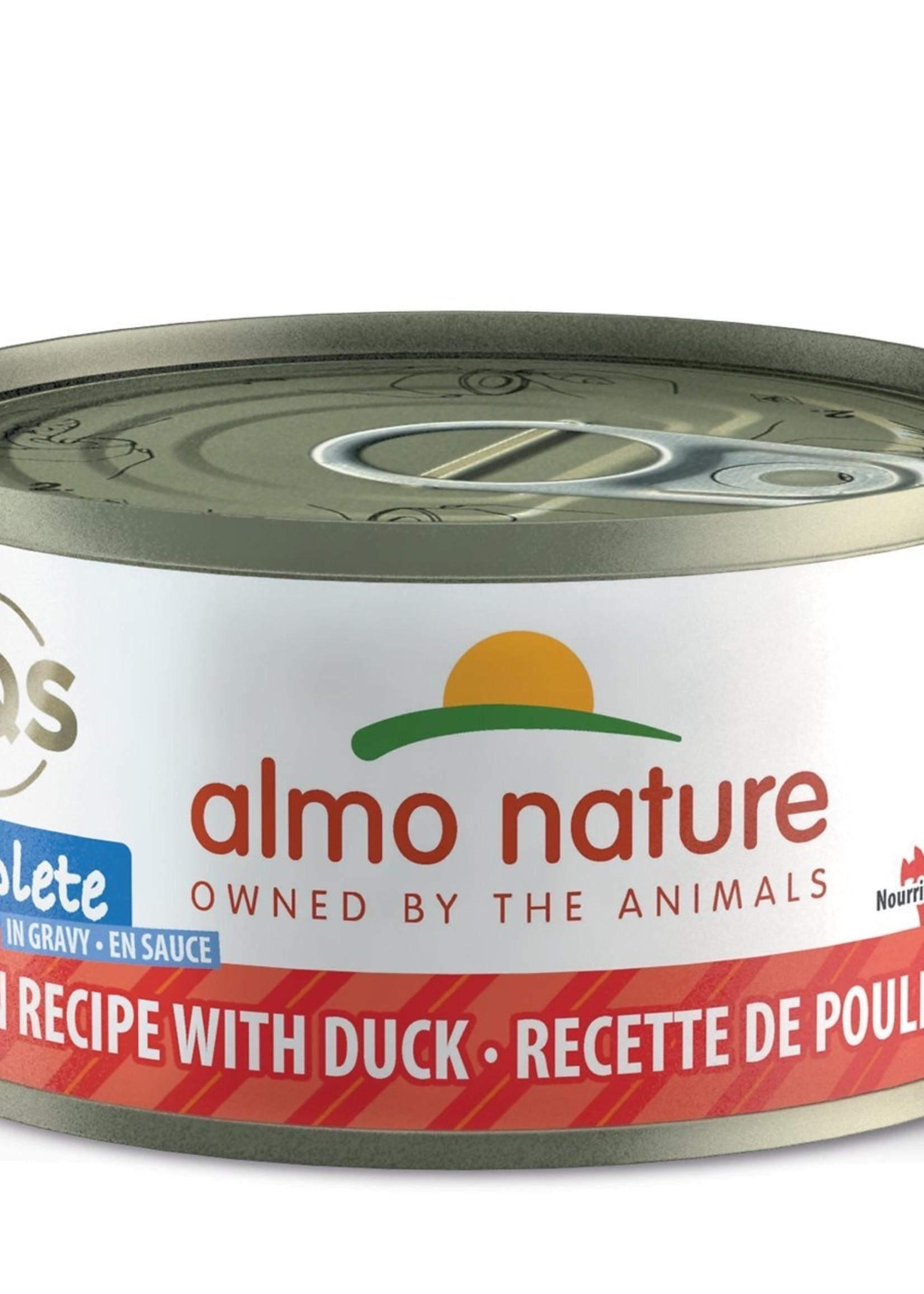 Almo Nature© Almo Nature HQS Complete Chicken Recipe with Duck in Gravy 70g