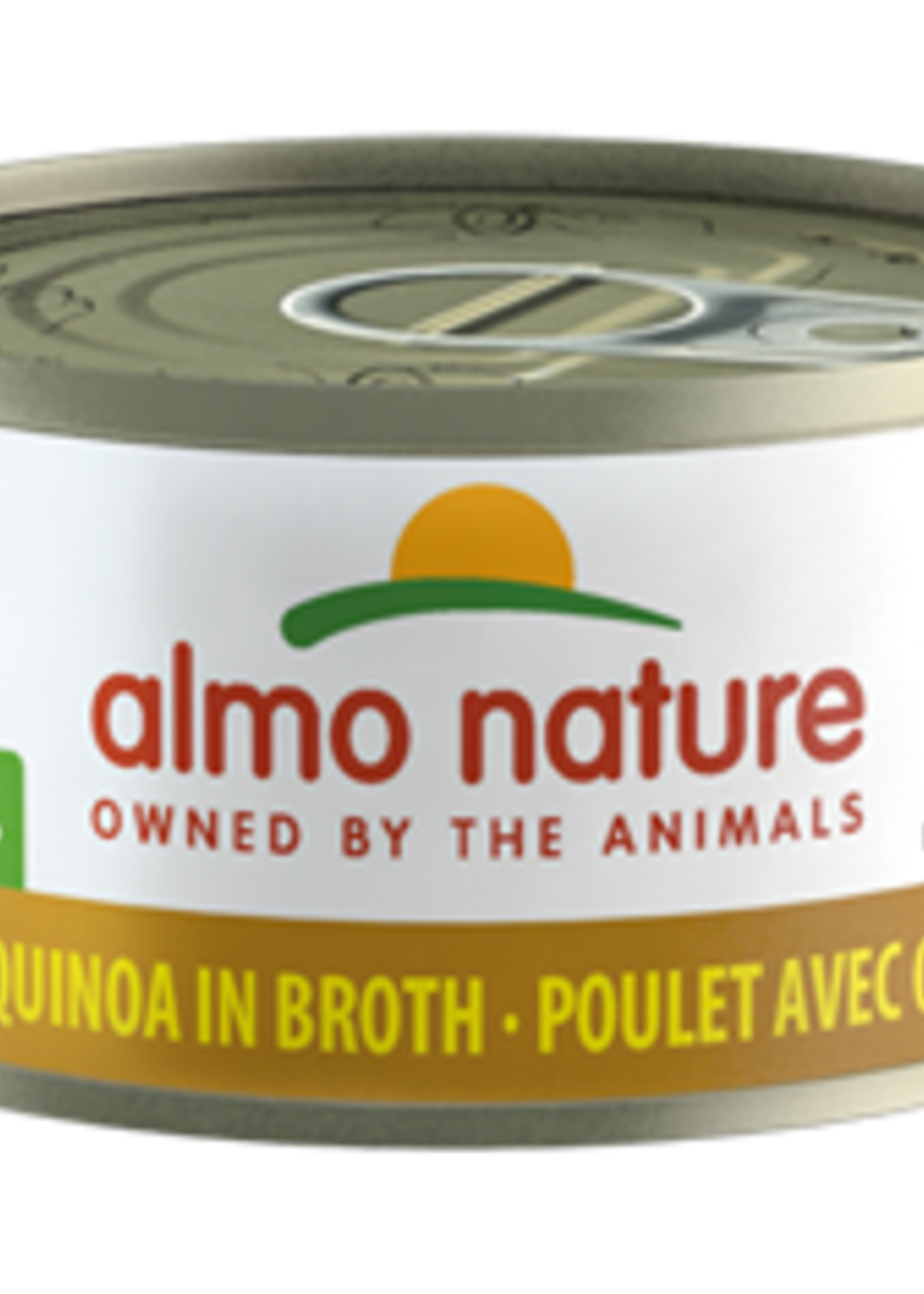 Almo Nature© Almo Nature HQS Natural Chicken with Quinoa in Broth 70g