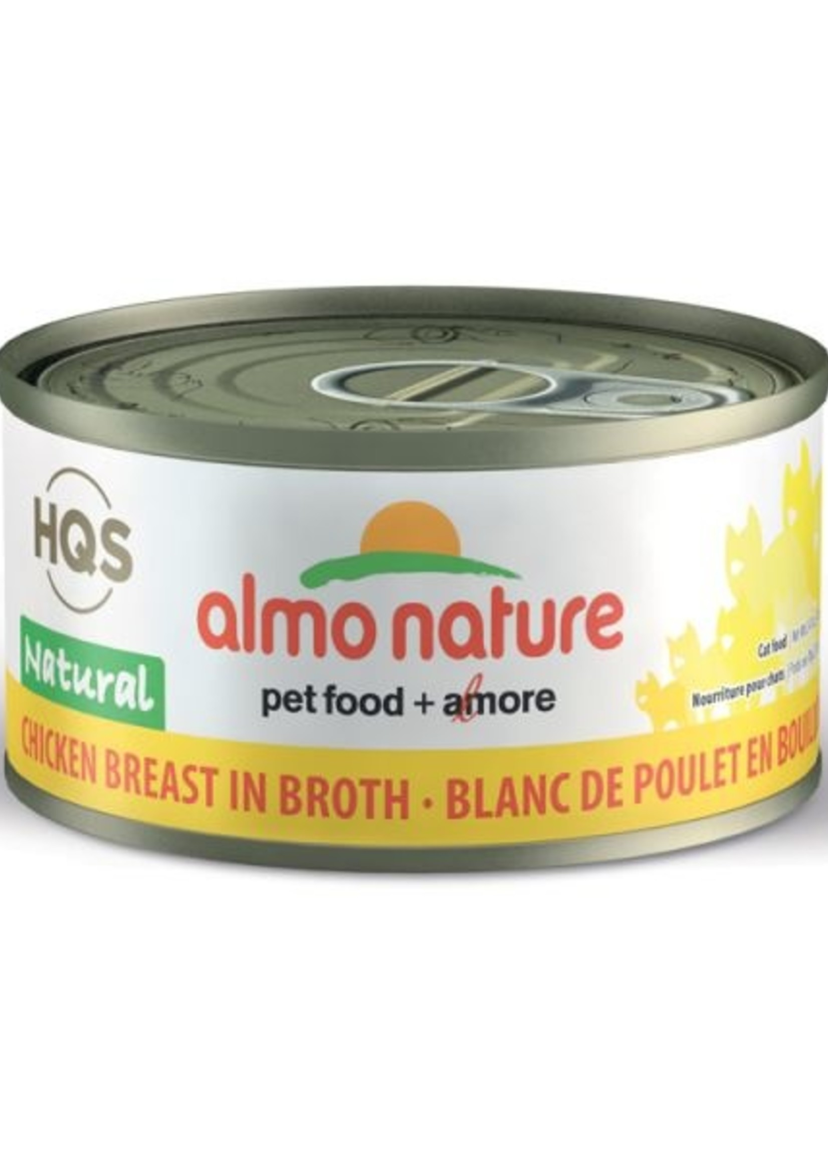 Almo Nature© Almo Nature HQS Natural Chicken Breast in Broth 70g