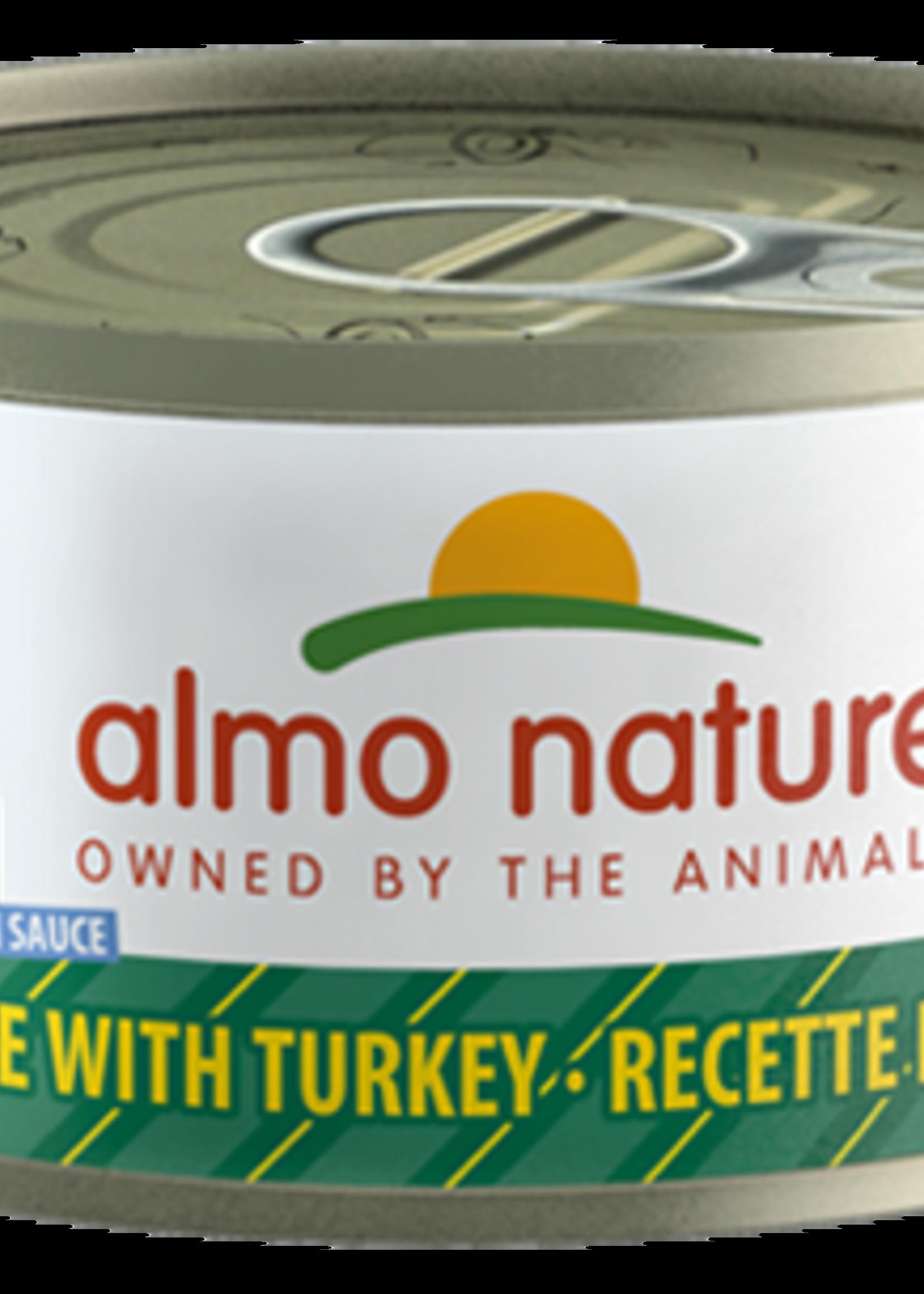 Almo Nature© Almo Nature HQS Complete Chicken Recipe with Turkey in Gravy 70g
