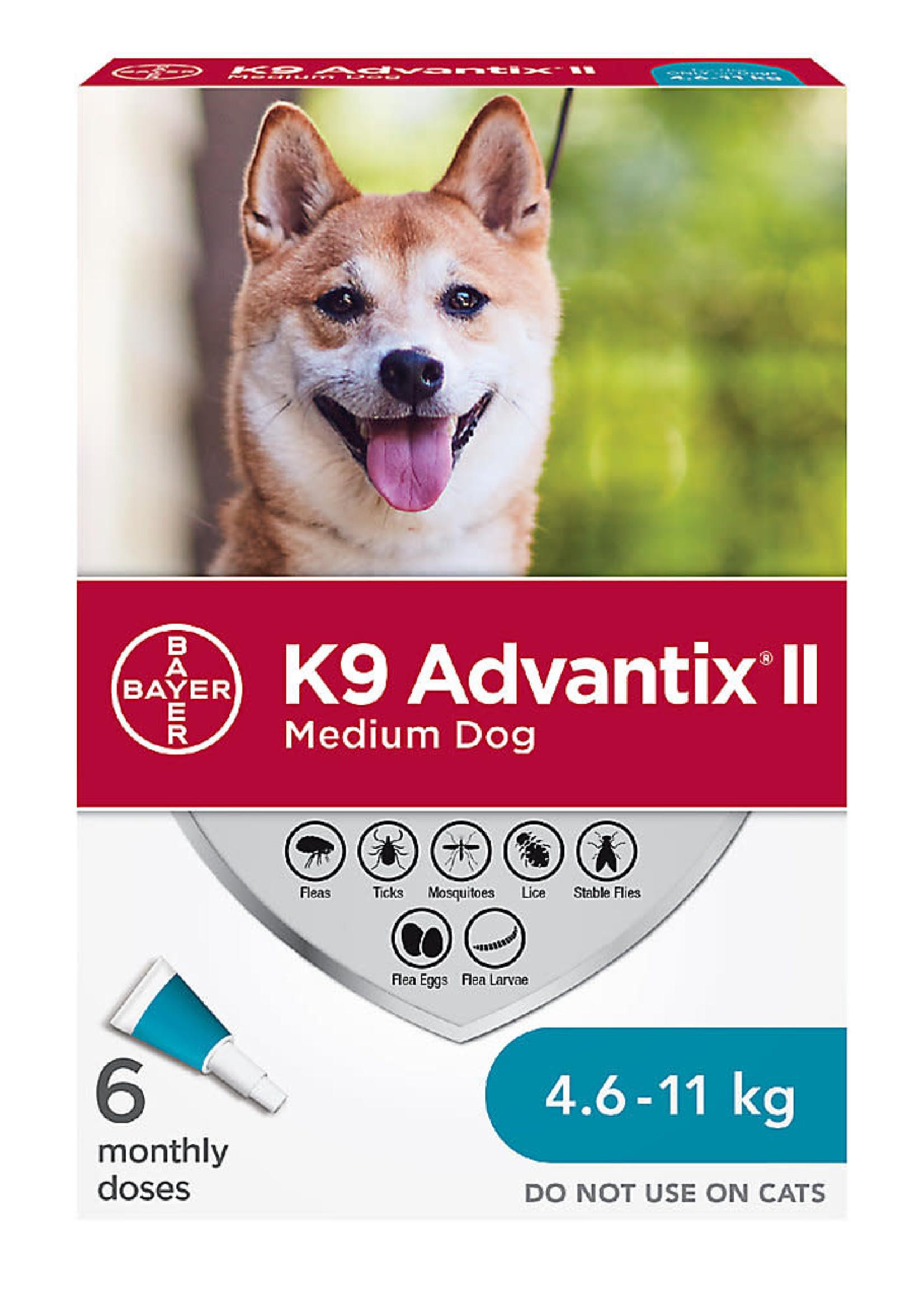 Bayer K9 Advantix® II - Medium Dog