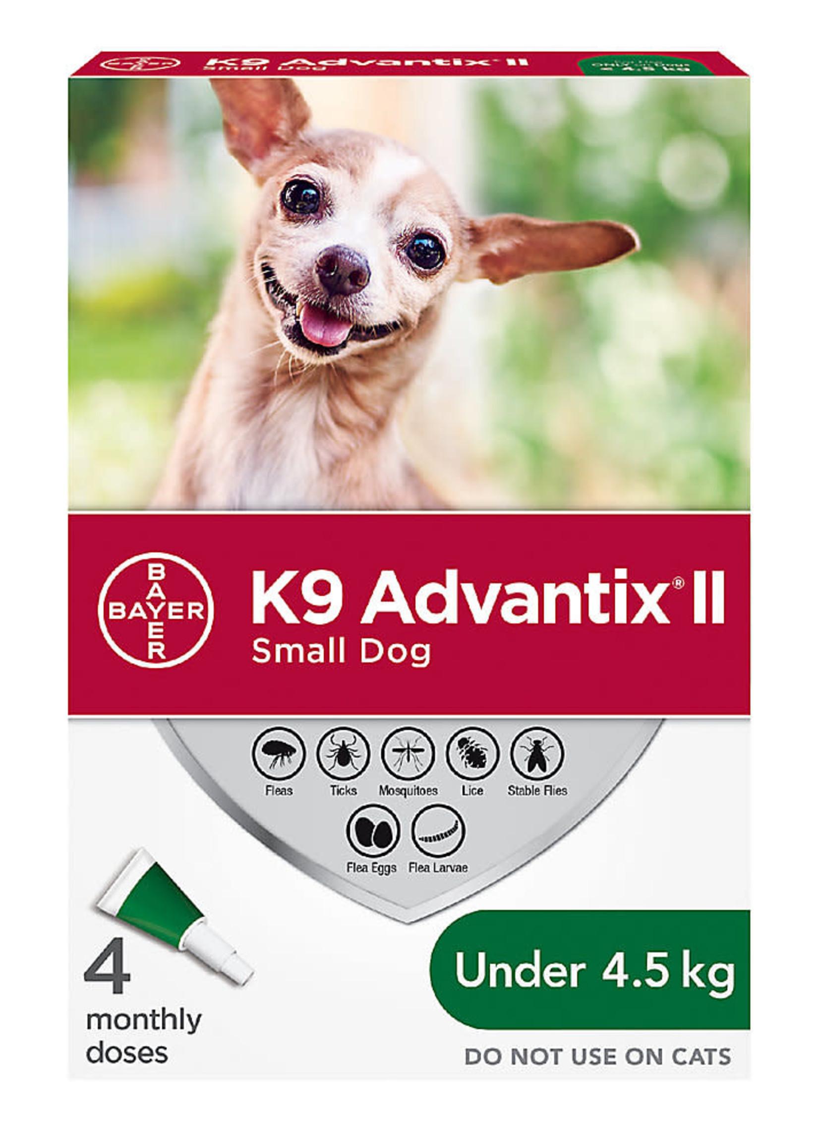 Bayer K9 Advantix® II - Small Dog