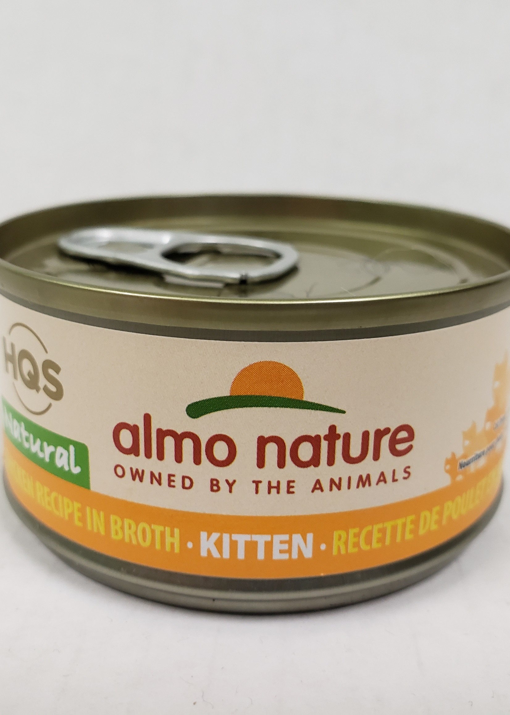 Almo Nature© Almo Nature HQS Natural Chicken Recipe in Broth - Kitten 70g