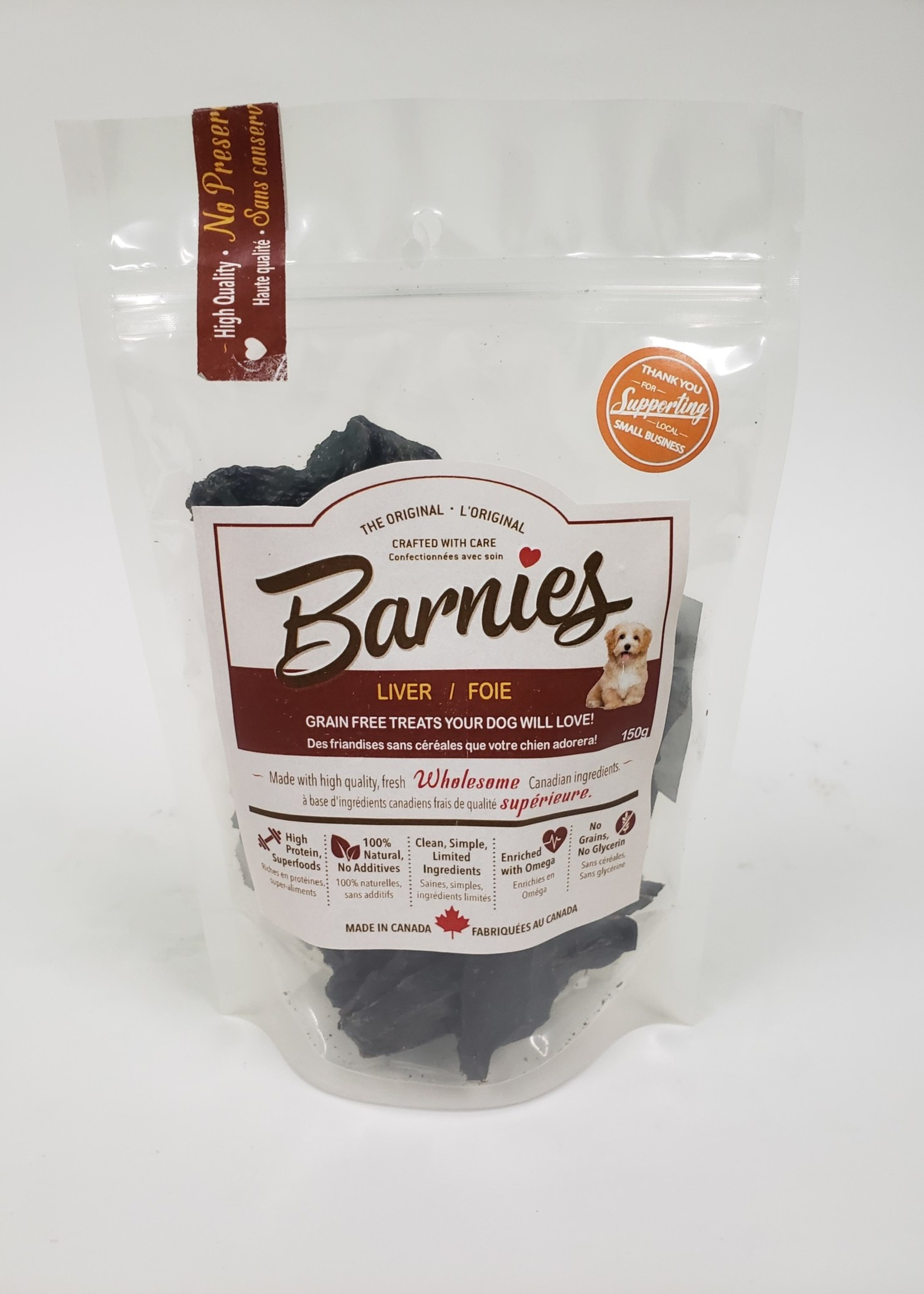 Barnies Barnies Dehydrated Beef Liver  150g