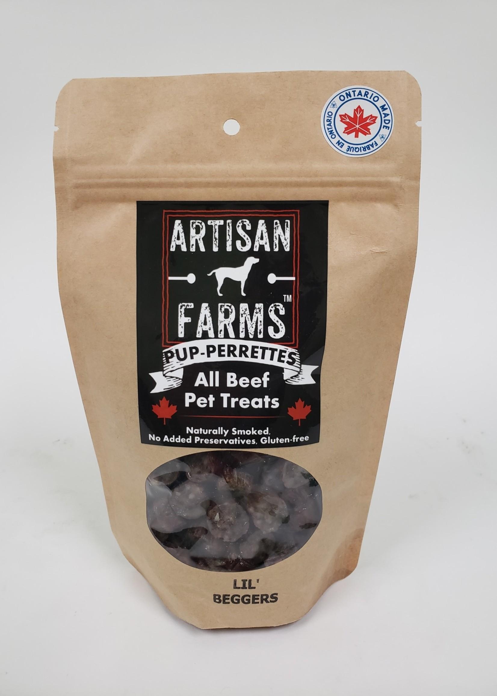 Artisan Farms® Artisan Farms Pup-Perrettes™ Lil' Beggers 130g