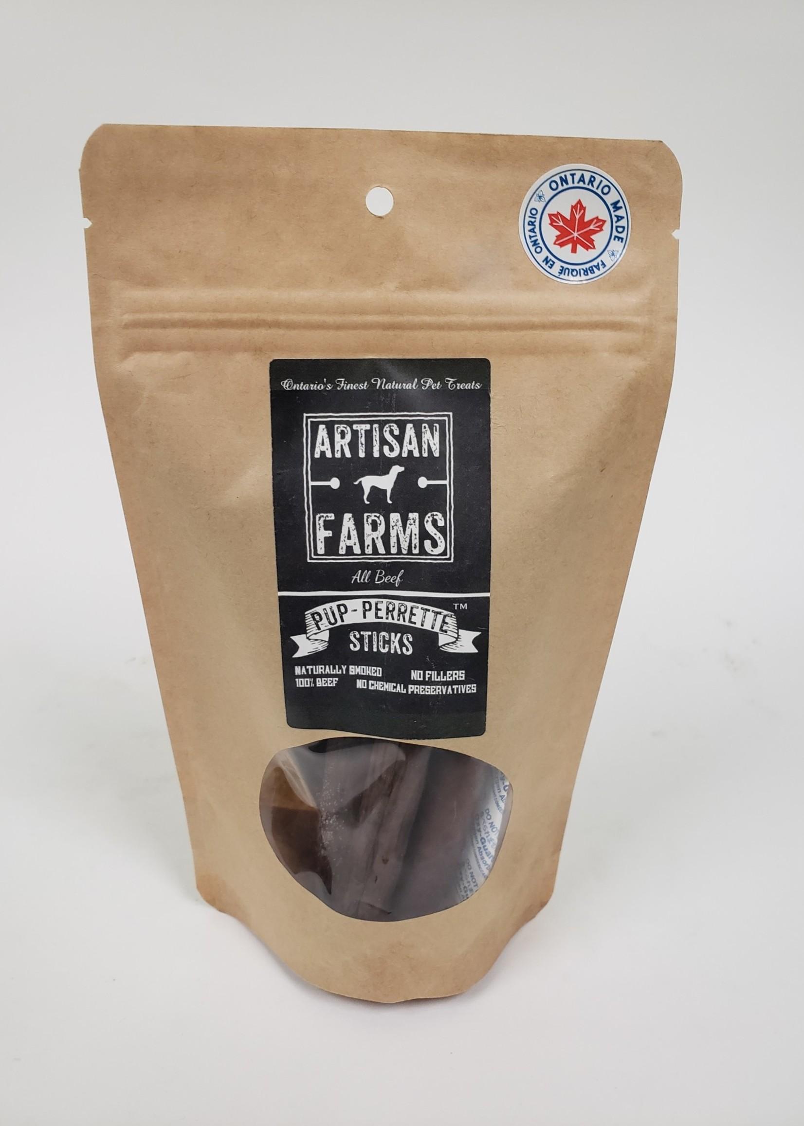Artisan Farms® Artisan Farms Pup-Perrettes™ Sticks 130g